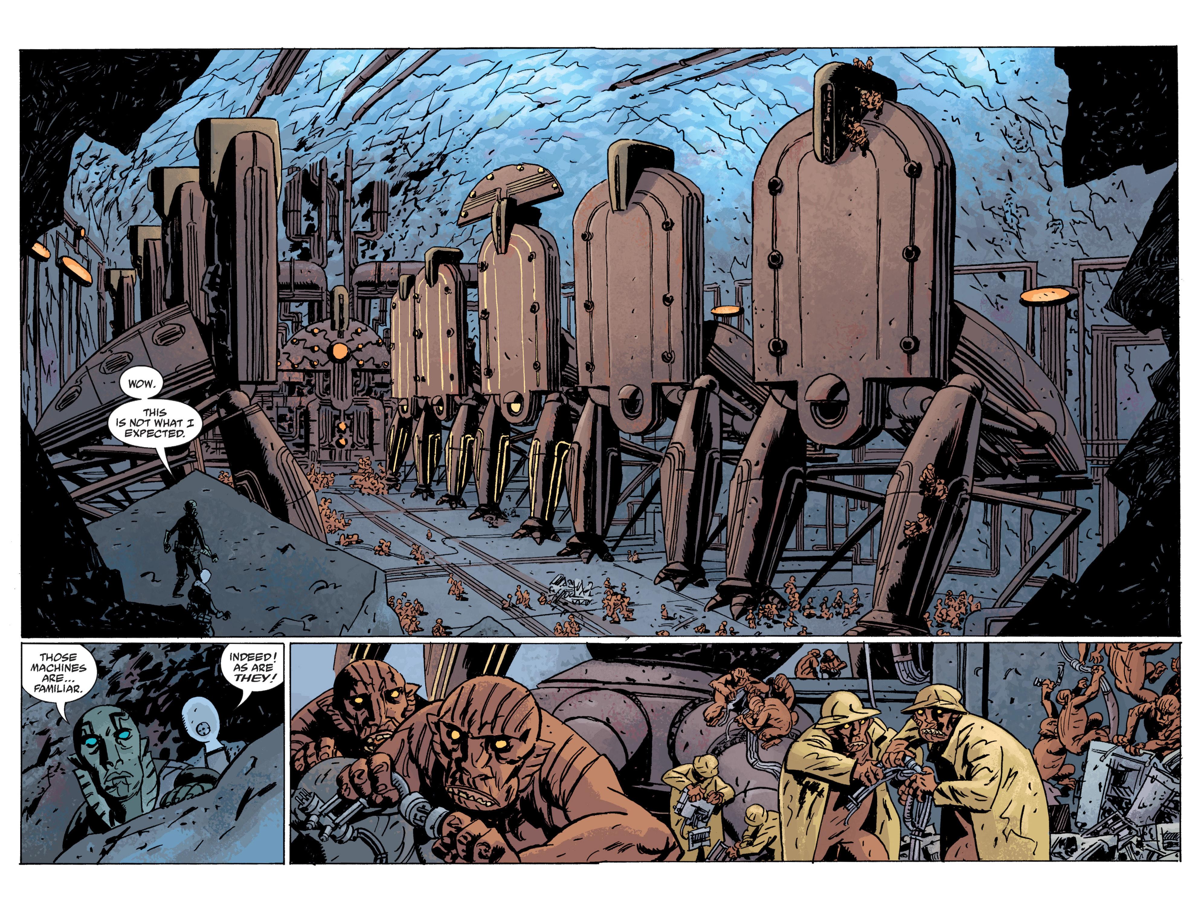 Read online B.P.R.D. (2003) comic -  Issue # TPB 10 - 81