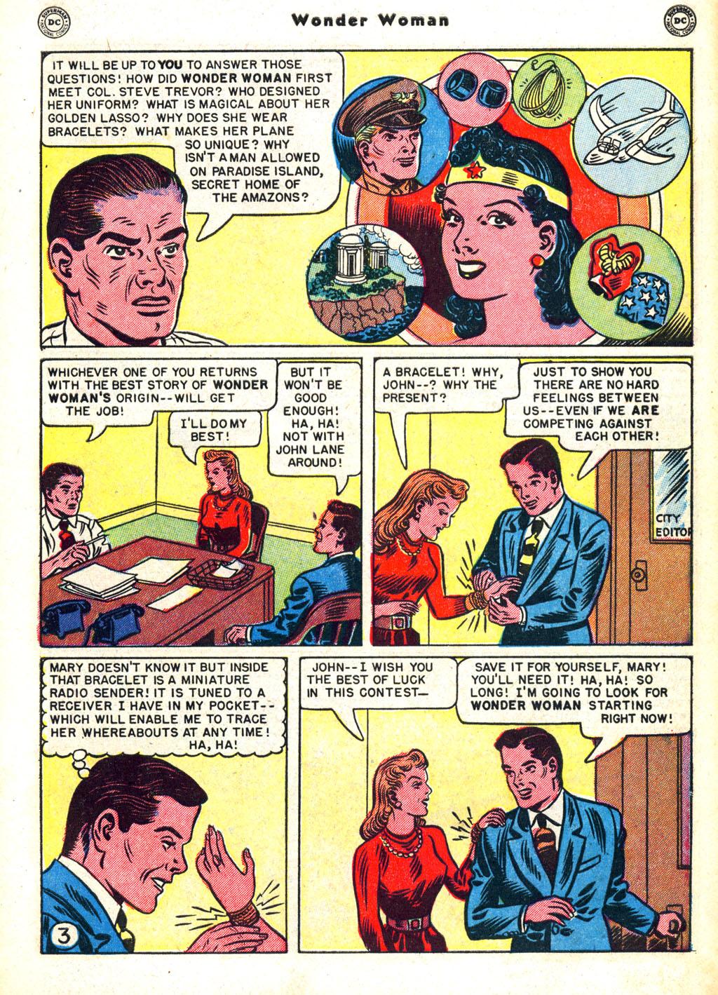 Read online Wonder Woman (1942) comic -  Issue #45 - 5