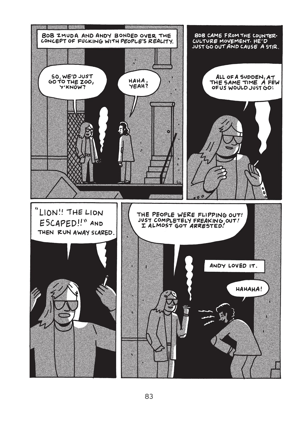 Read online Is This Guy For Real?: The Unbelievable Andy Kaufman comic -  Issue # TPB (Part 1) - 88