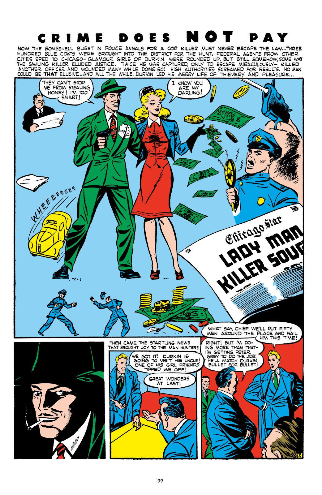 Read online Crime Does Not Pay Archives comic -  Issue # TPB 2 (Part 1) - 99