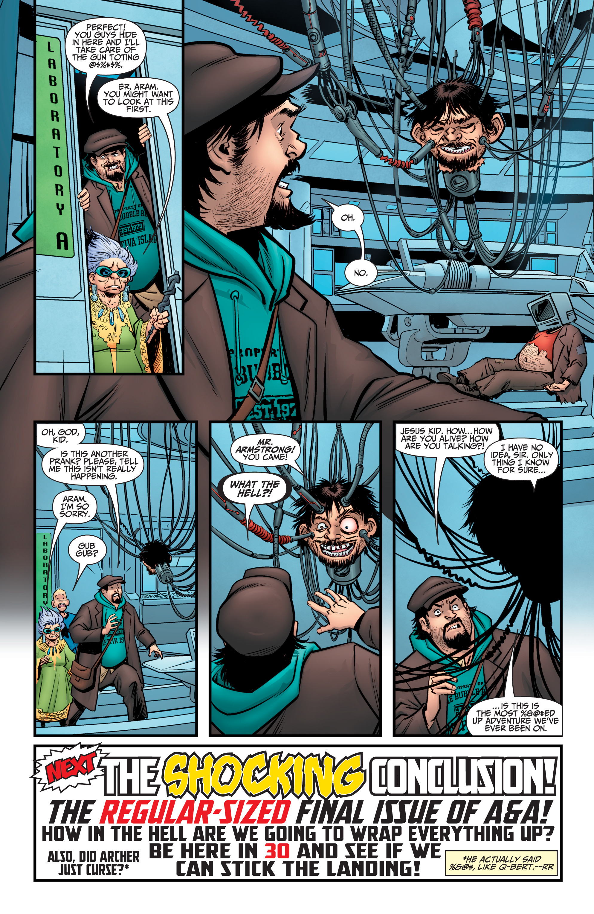 Read online A&A: The Adventures of Archer & Armstrong comic -  Issue #11 - 25