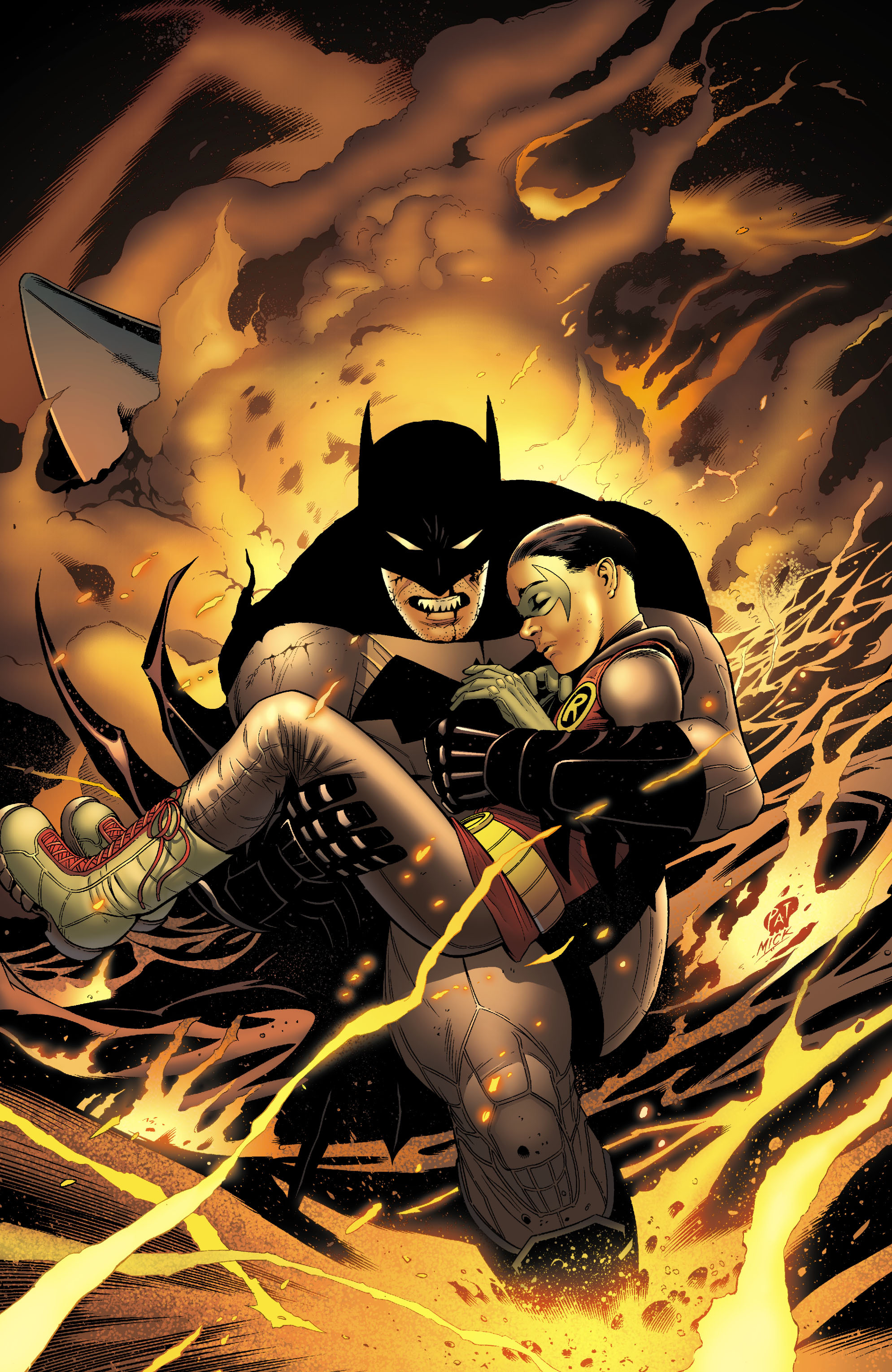 Read online Batman and Robin (2011) comic -  Issue # TPB 1 - 152