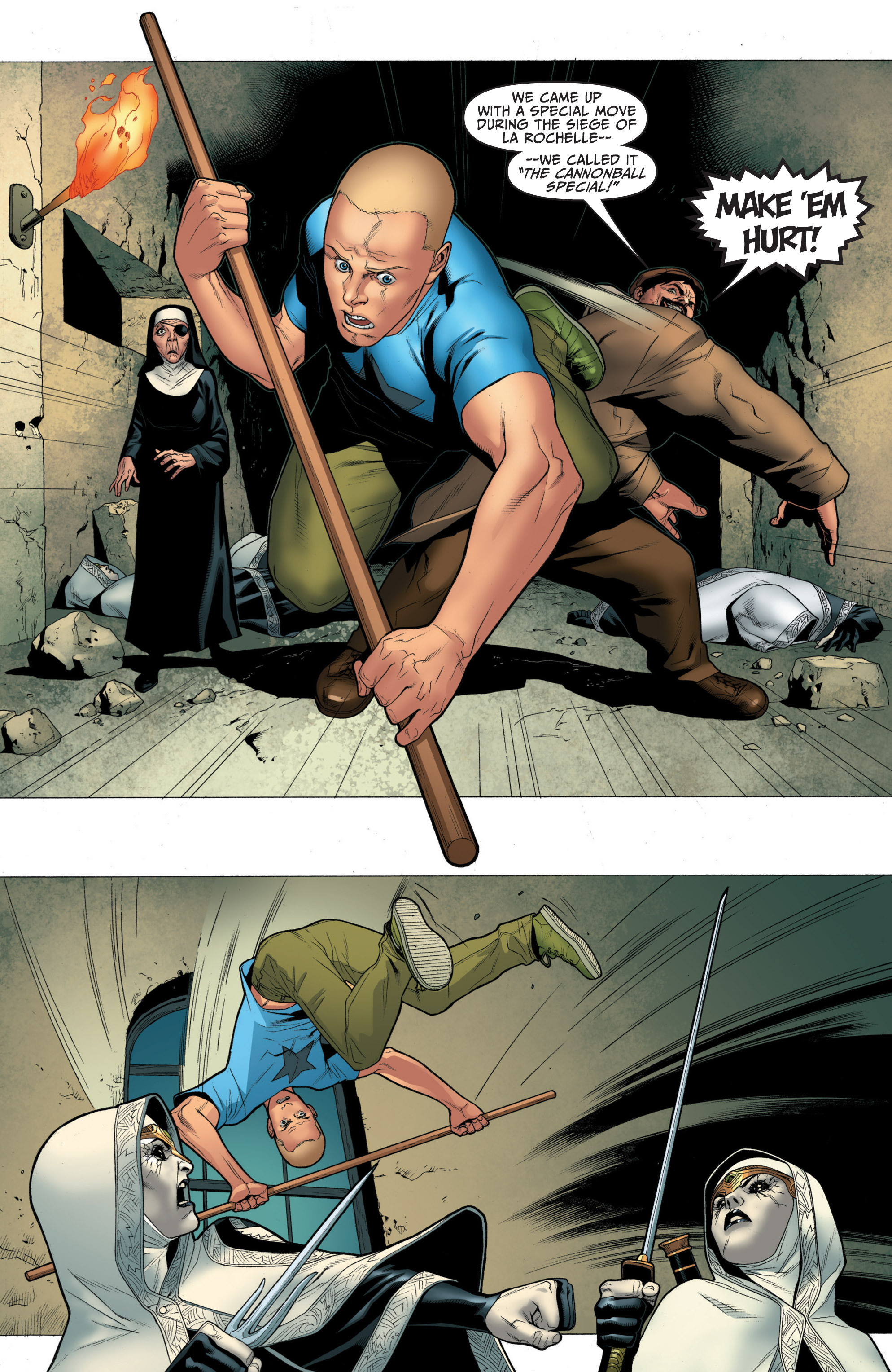 Read online Archer and Armstrong comic -  Issue #Archer and Armstrong _TPB 1 - 58