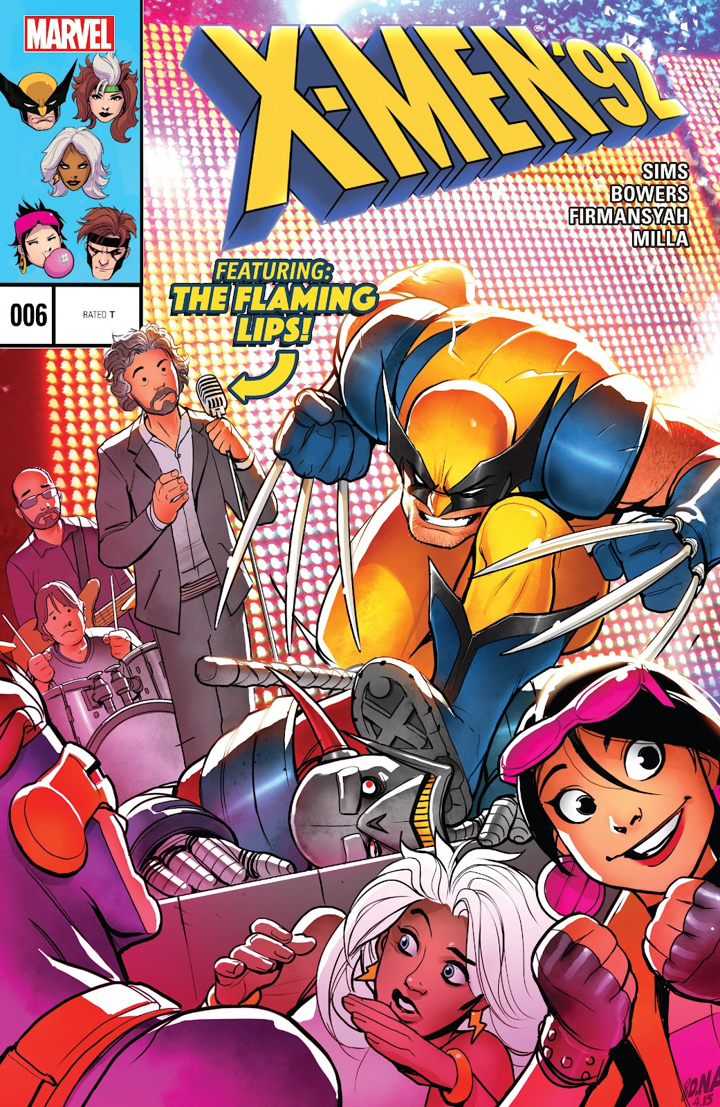 X-Men 92 (2016) 6 Page 1