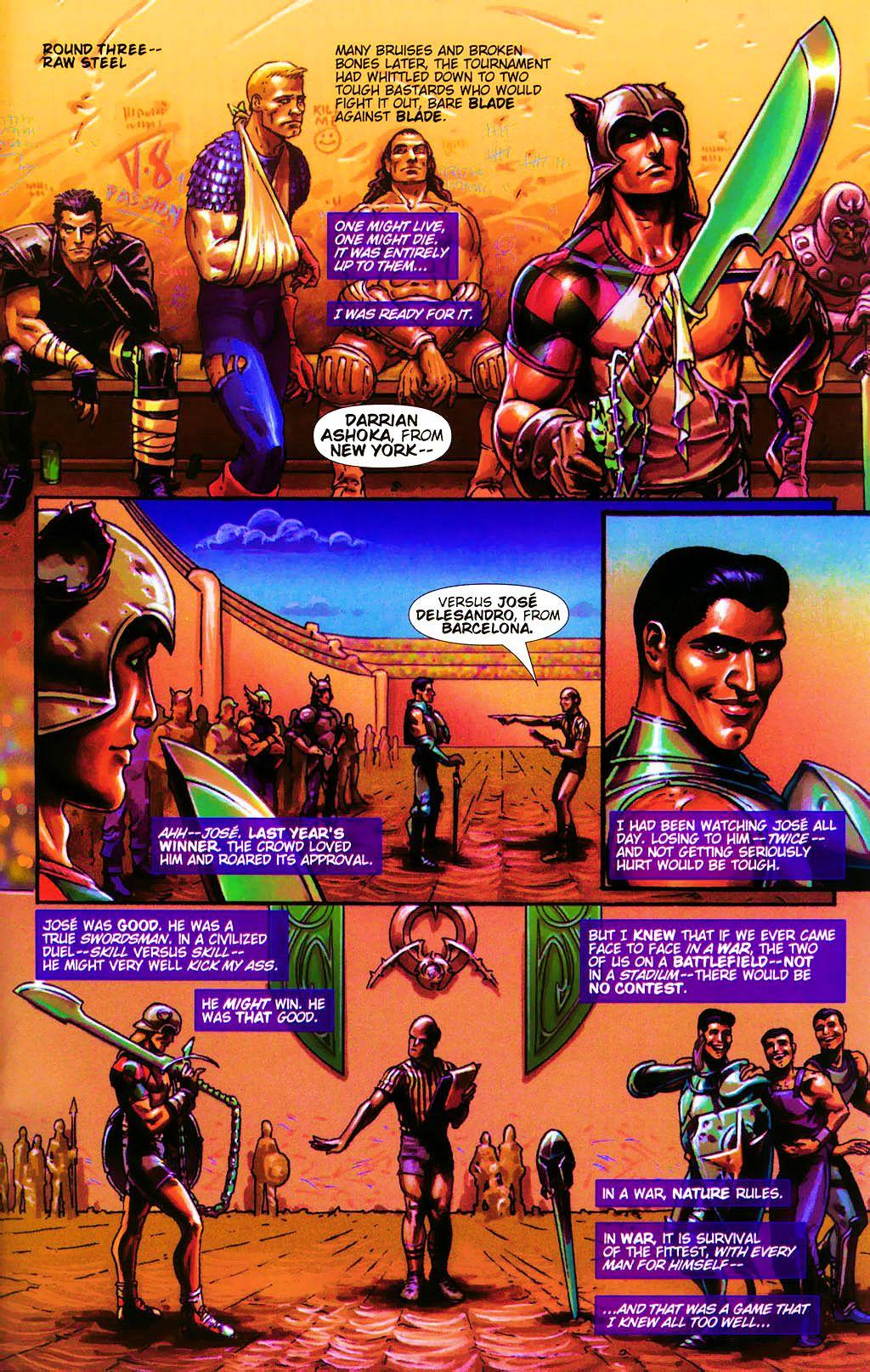 Read online Dawn: Three Tiers comic -  Issue #4 - 17