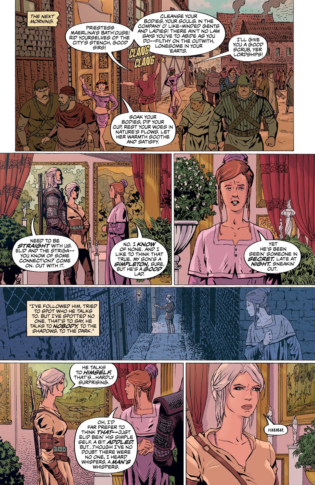Read online The Witcher Omnibus comic -  Issue # TPB (Part 4) - 50