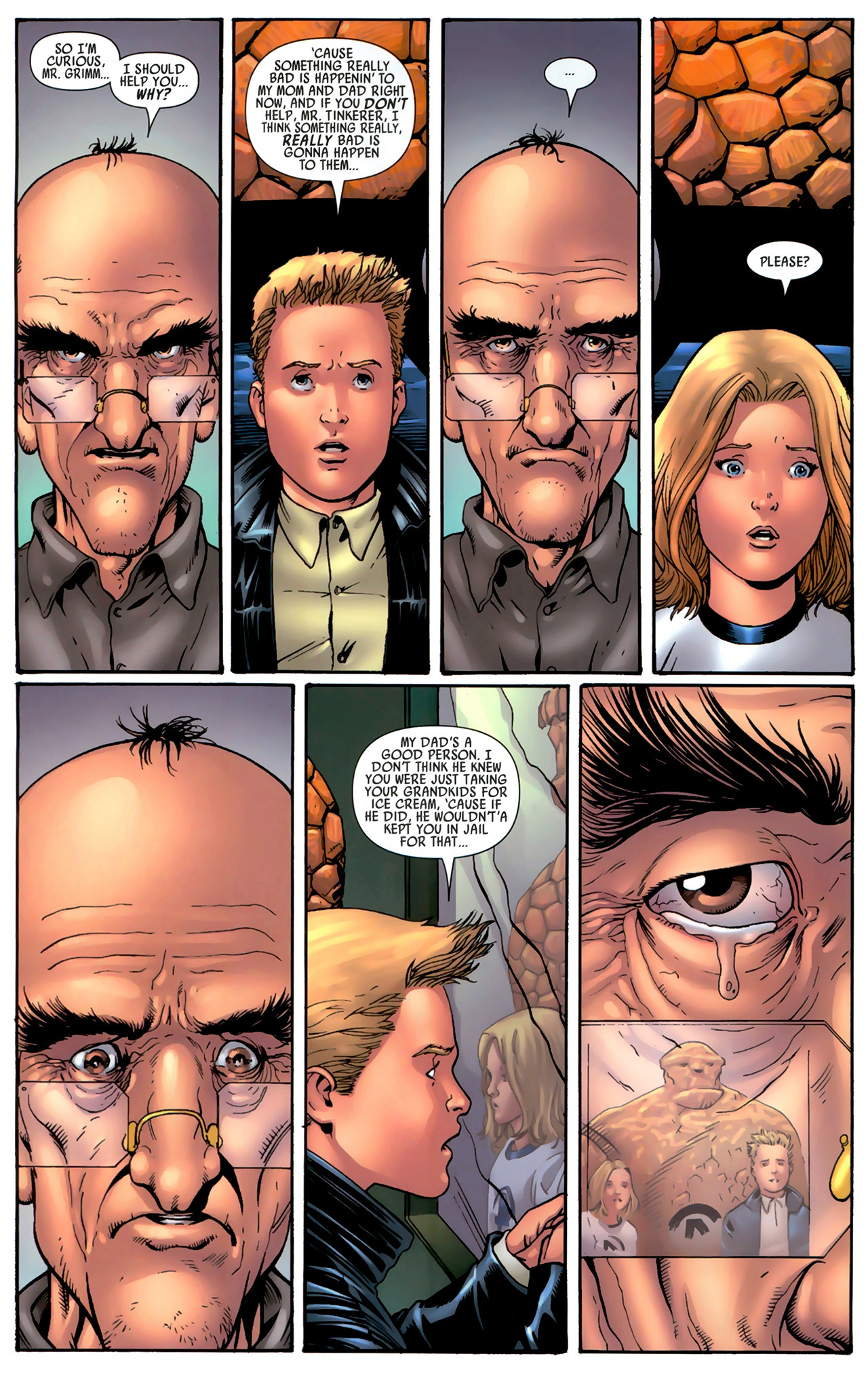 Read online Secret Invasion: Fantastic Four comic -  Issue #3 - 19