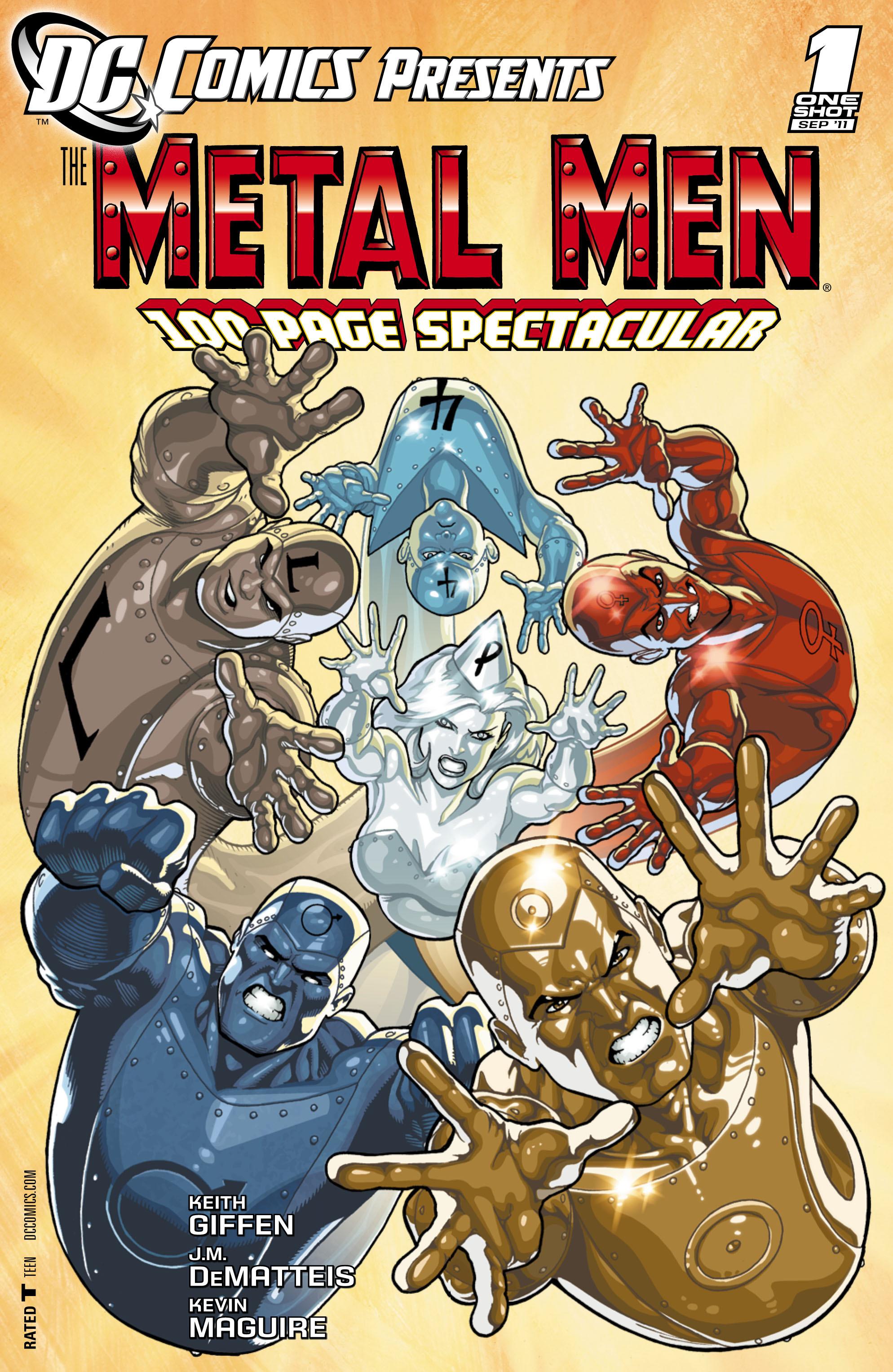DC Comics Presents: The Metal Men Full Page 1