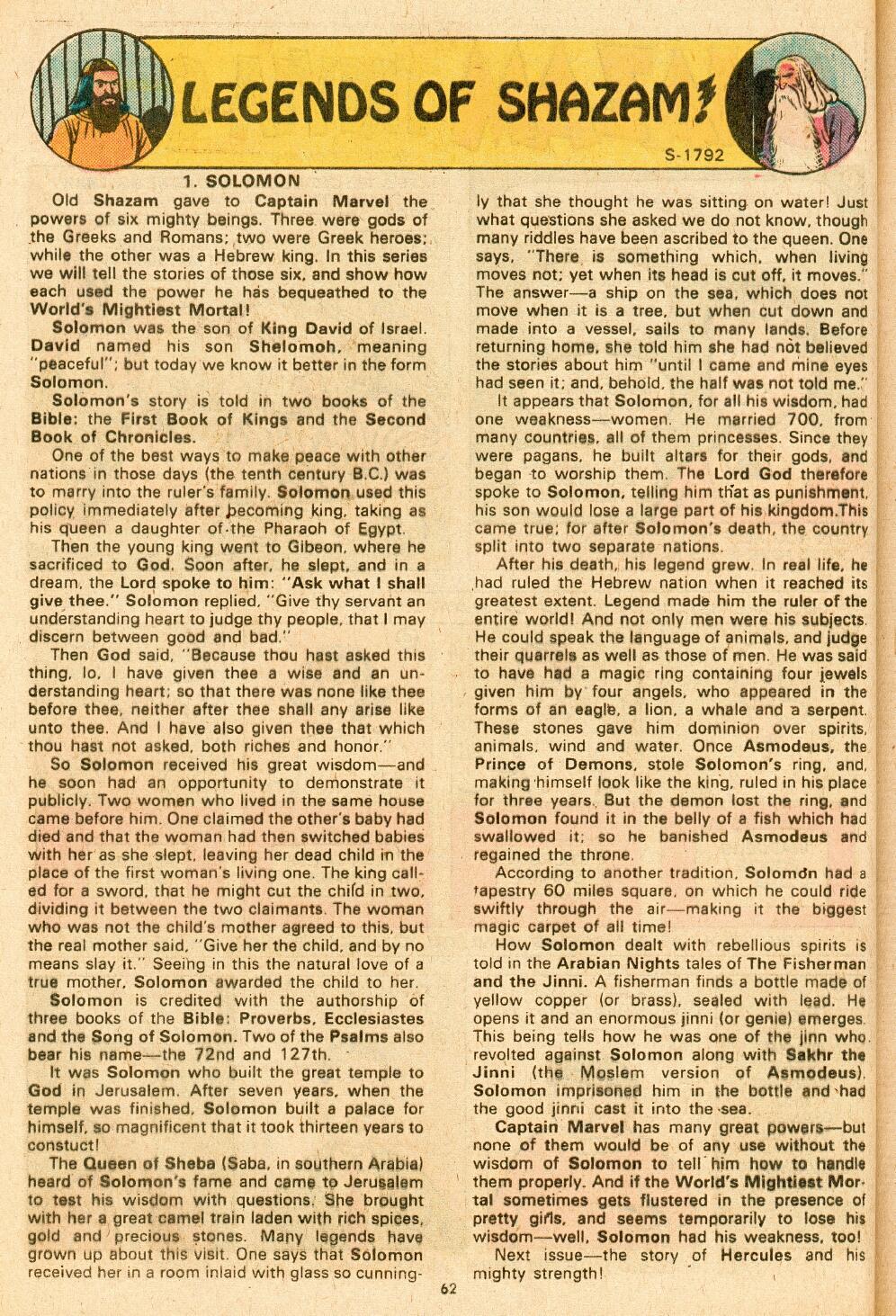 Read online Shazam! (1973) comic -  Issue #14 - 52