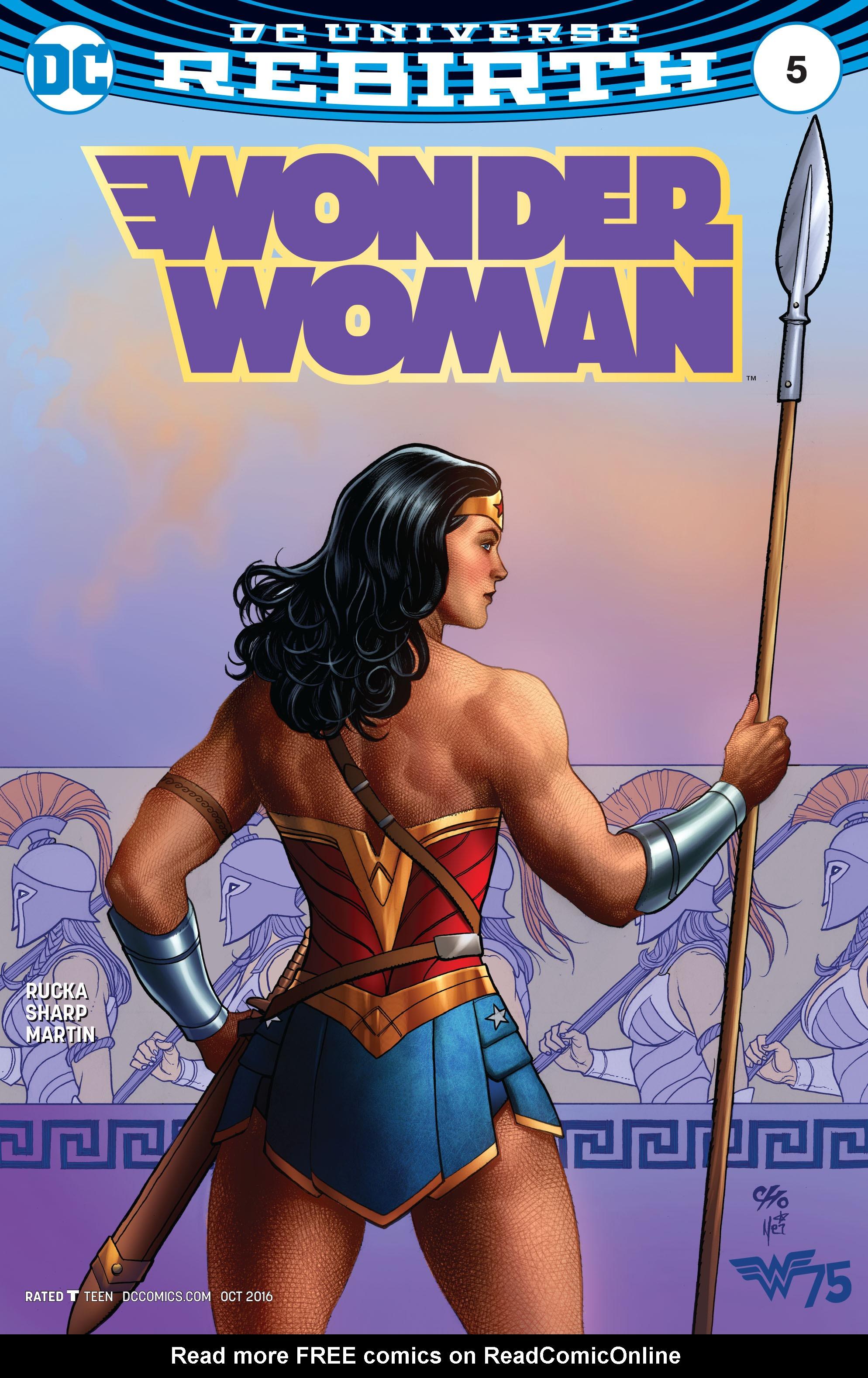 Read online Wonder Woman (2016) comic -  Issue #5 - 2