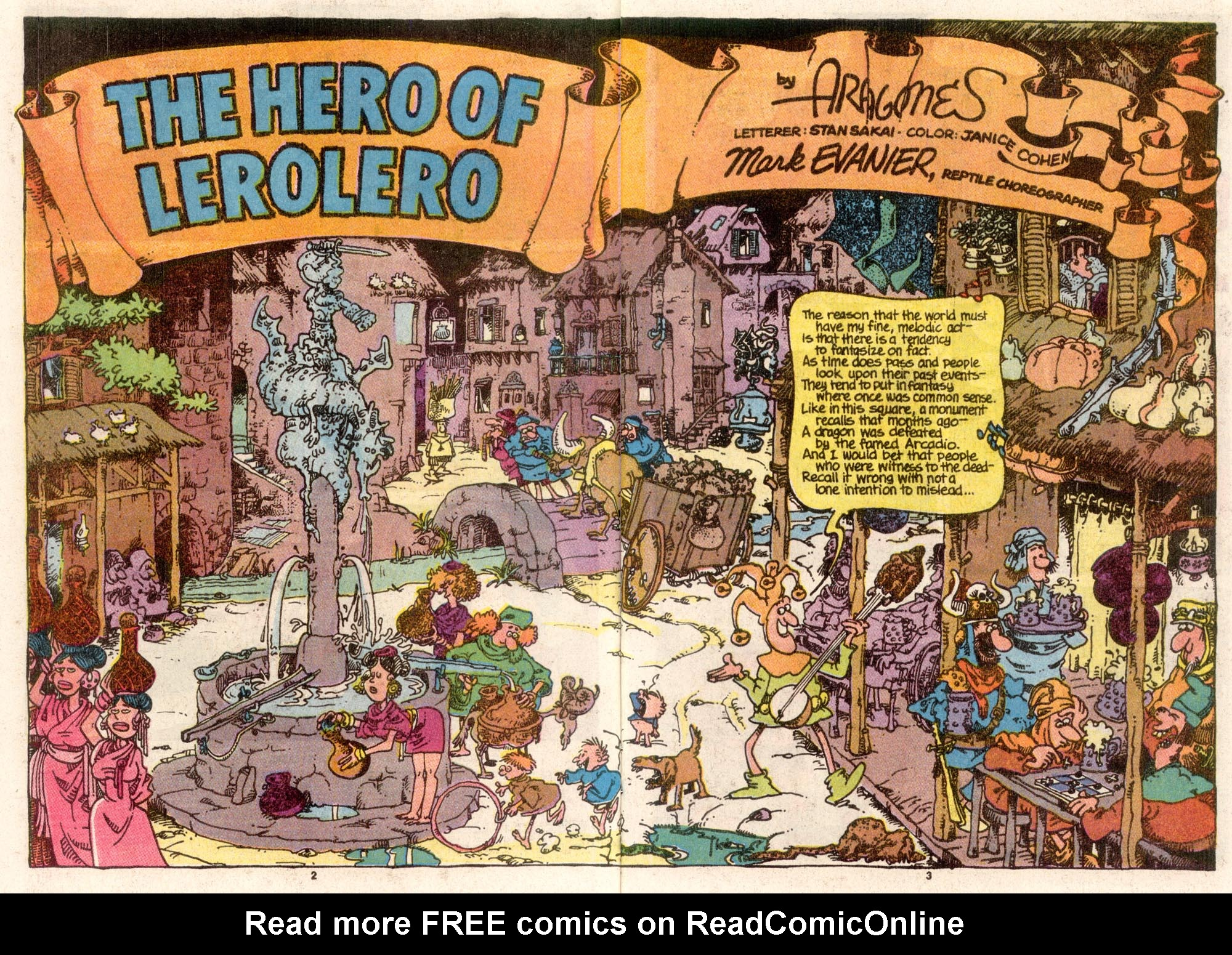 Read online Sergio Aragonés Groo the Wanderer comic -  Issue #68 - 3