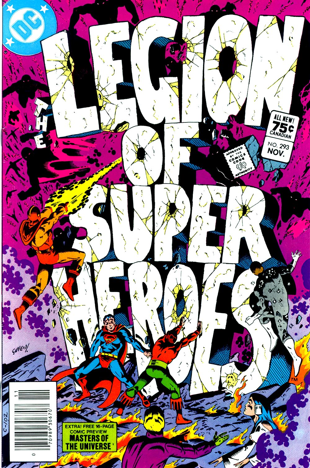 Legion of Super-Heroes (1980) 293 Page 0