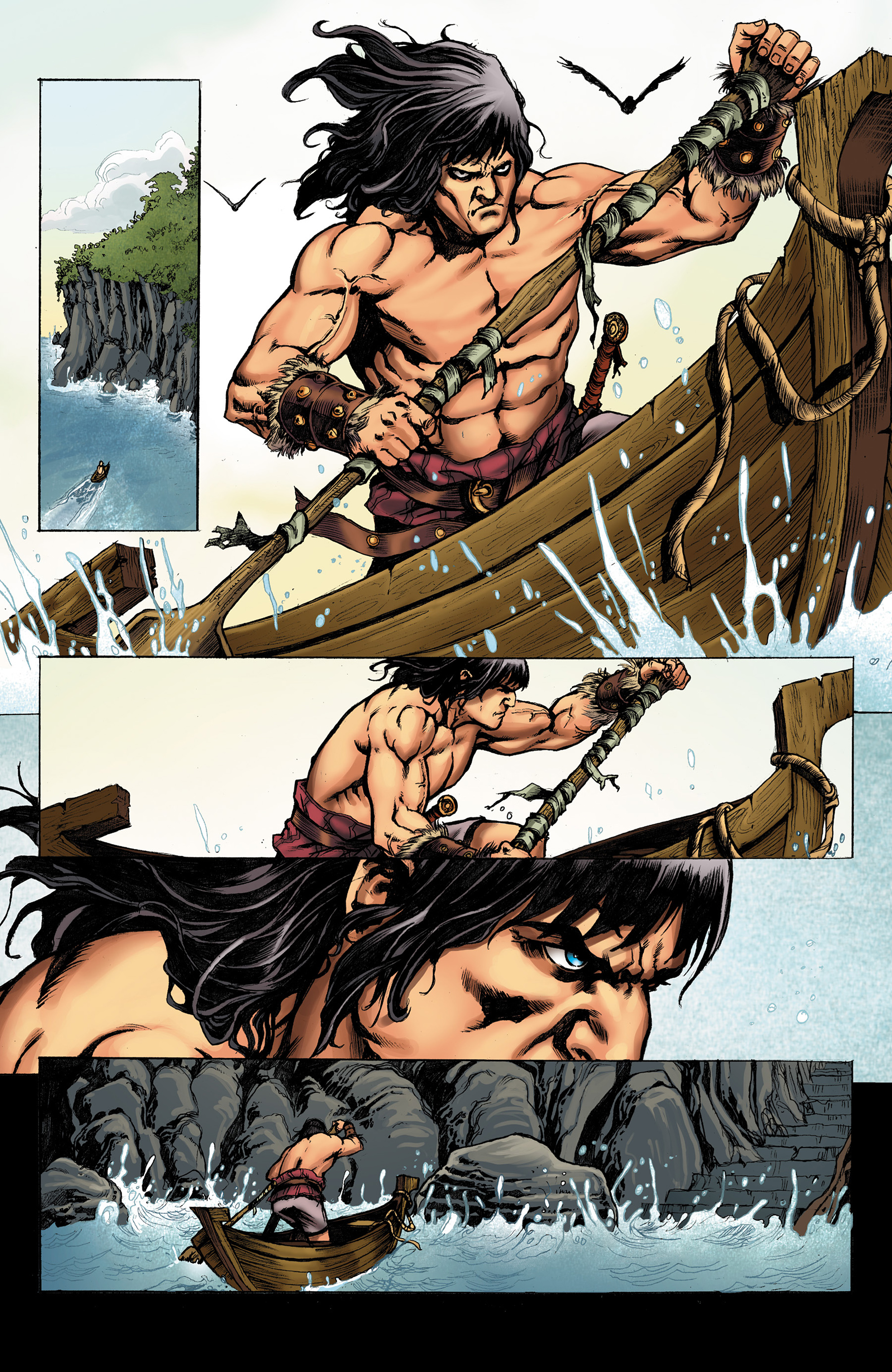 Read online Conan The Slayer comic -  Issue #8 - 21