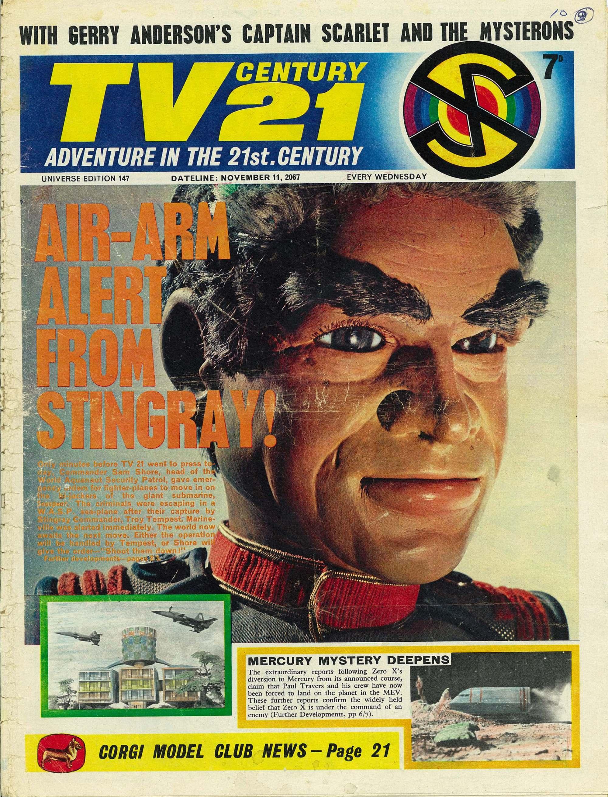 Read online TV Century 21 (TV 21) comic -  Issue #147 - 1