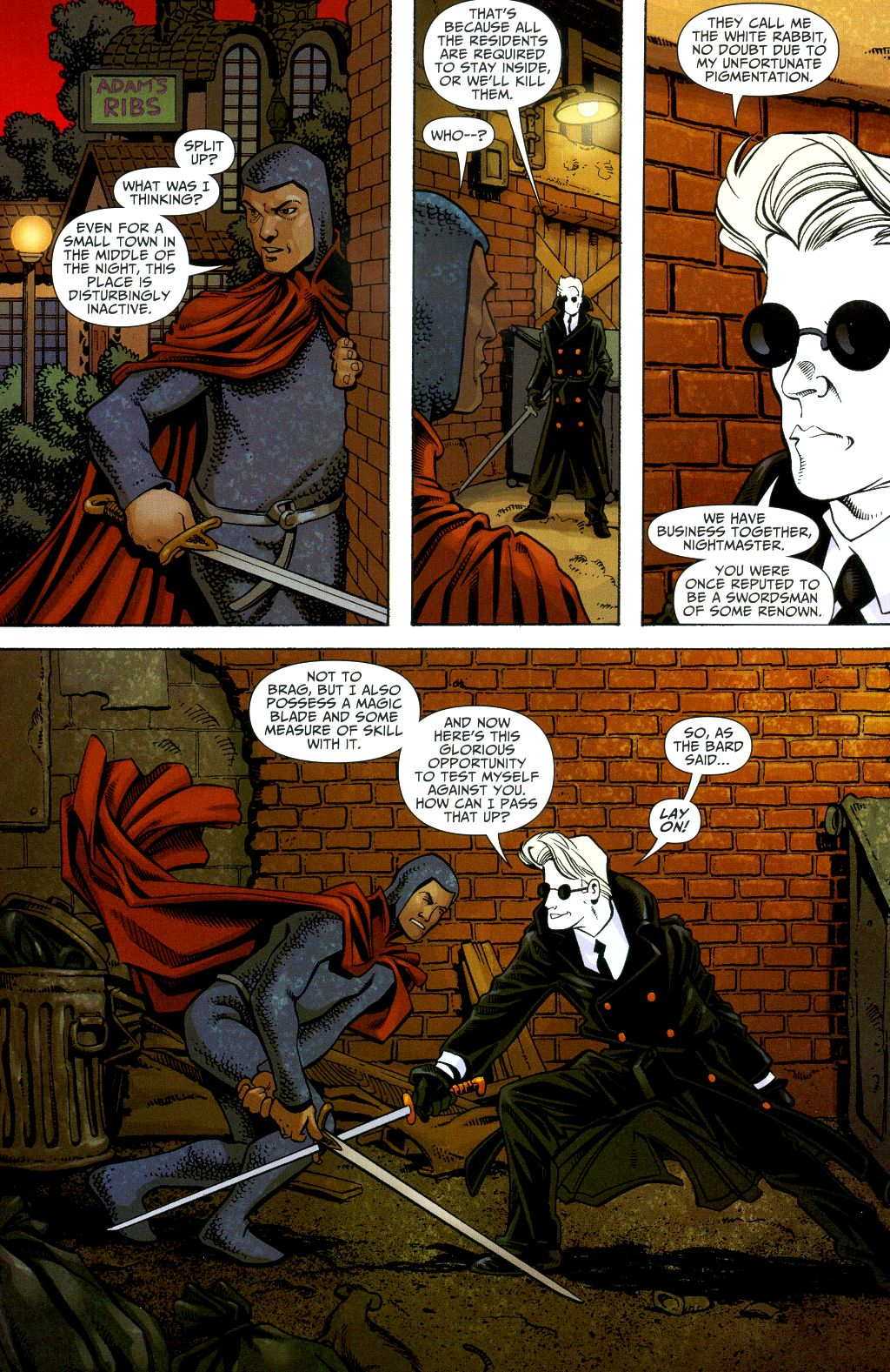 Read online Shadowpact comic -  Issue #2 - 9