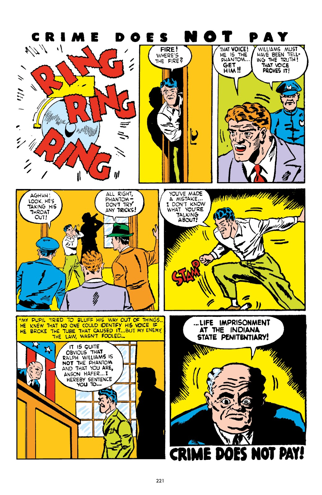 Read online Crime Does Not Pay Archives comic -  Issue # TPB 2 (Part 3) - 21