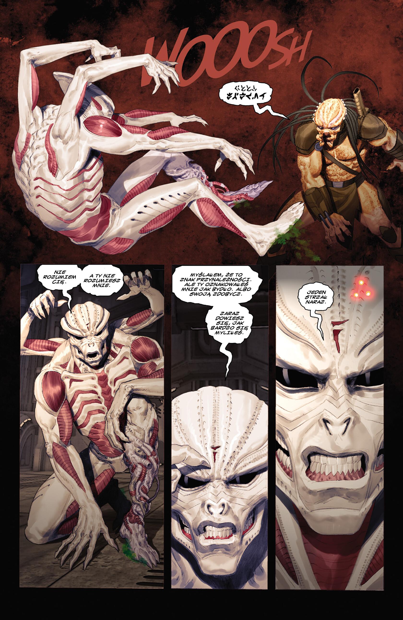 Read online Alien vs. Predator: Fire and Stone comic -  Issue #3 - 23