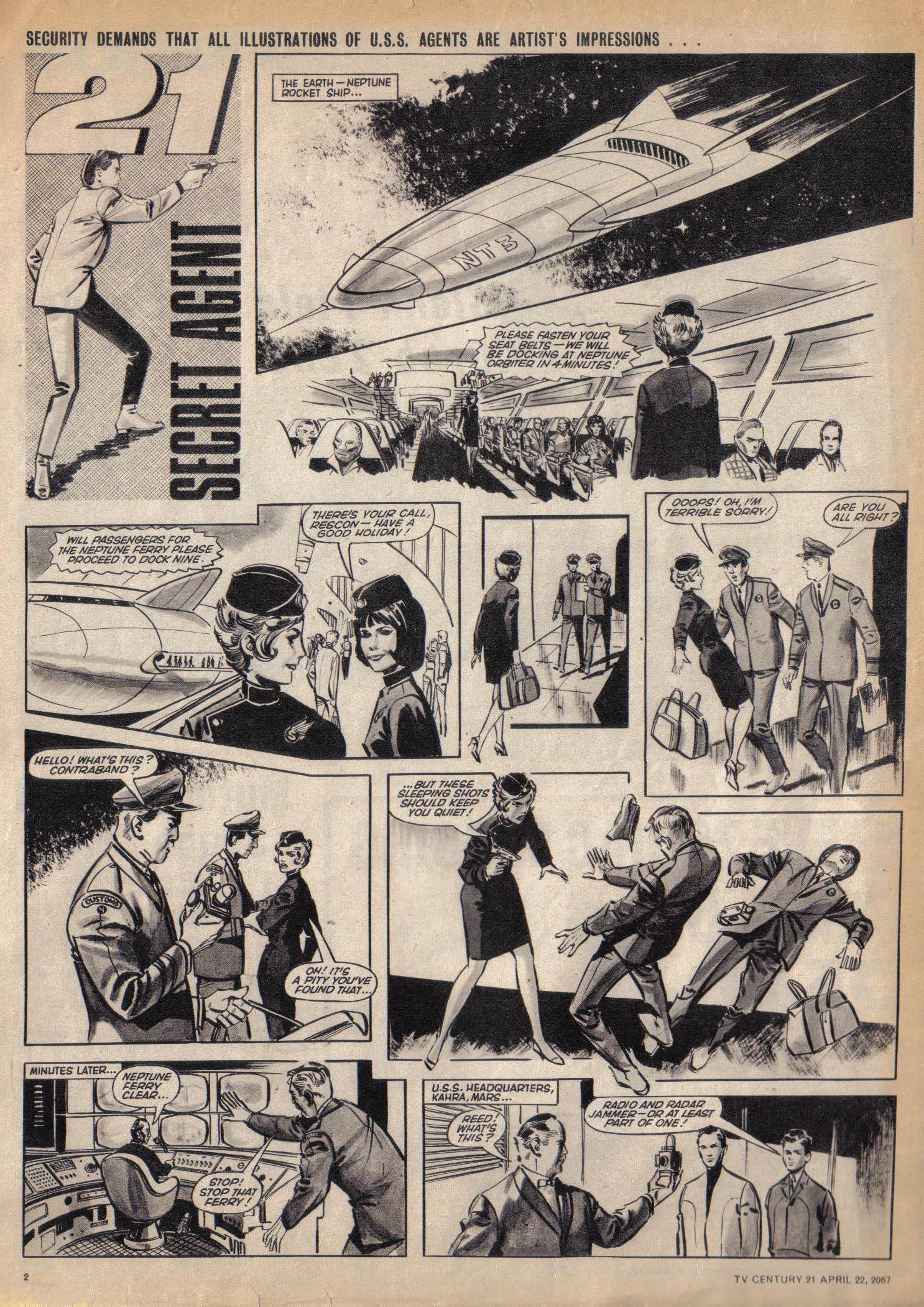 Read online TV Century 21 (TV 21) comic -  Issue #118 - 2