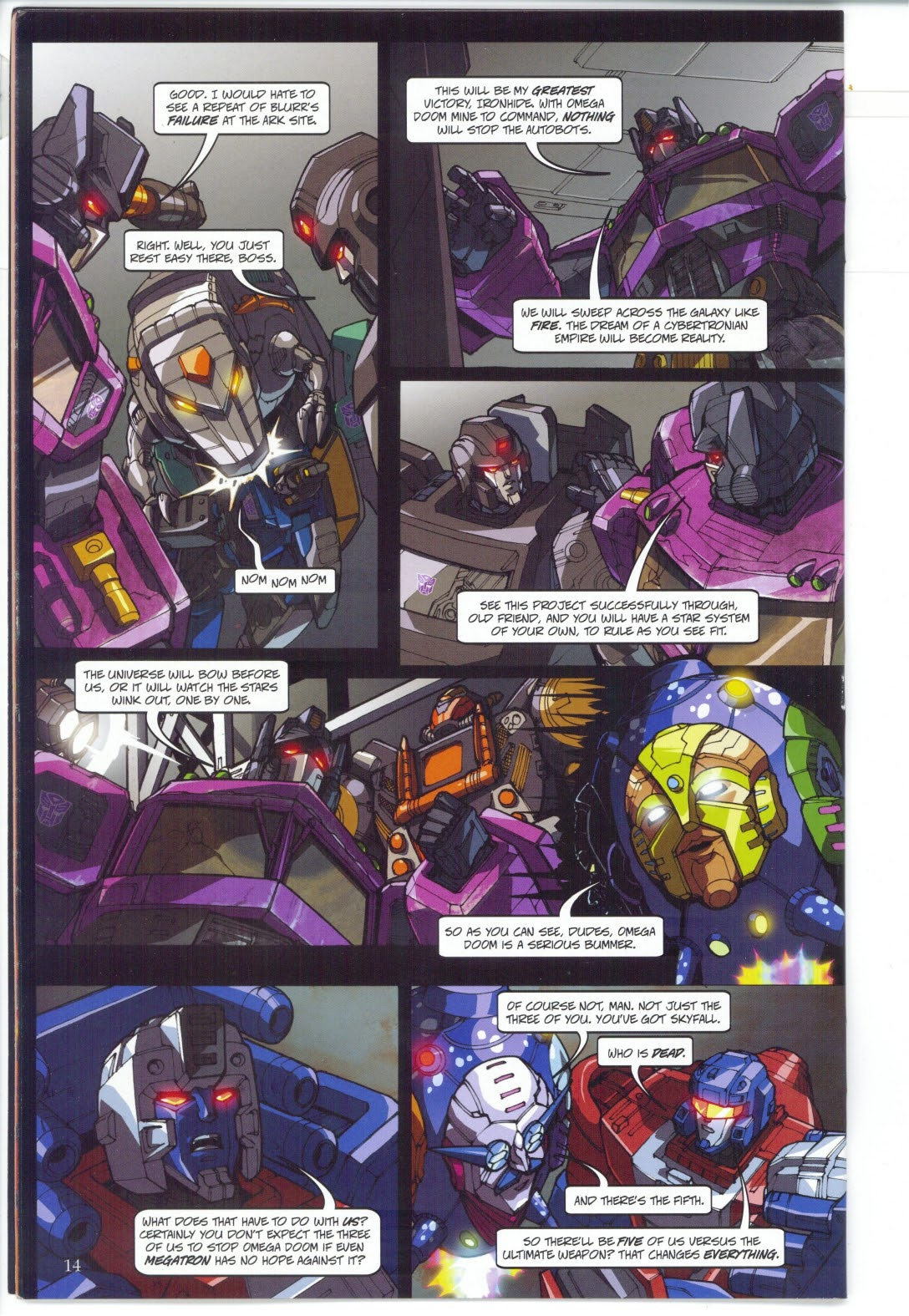 Read online Transformers: Collectors' Club comic -  Issue #27 - 14