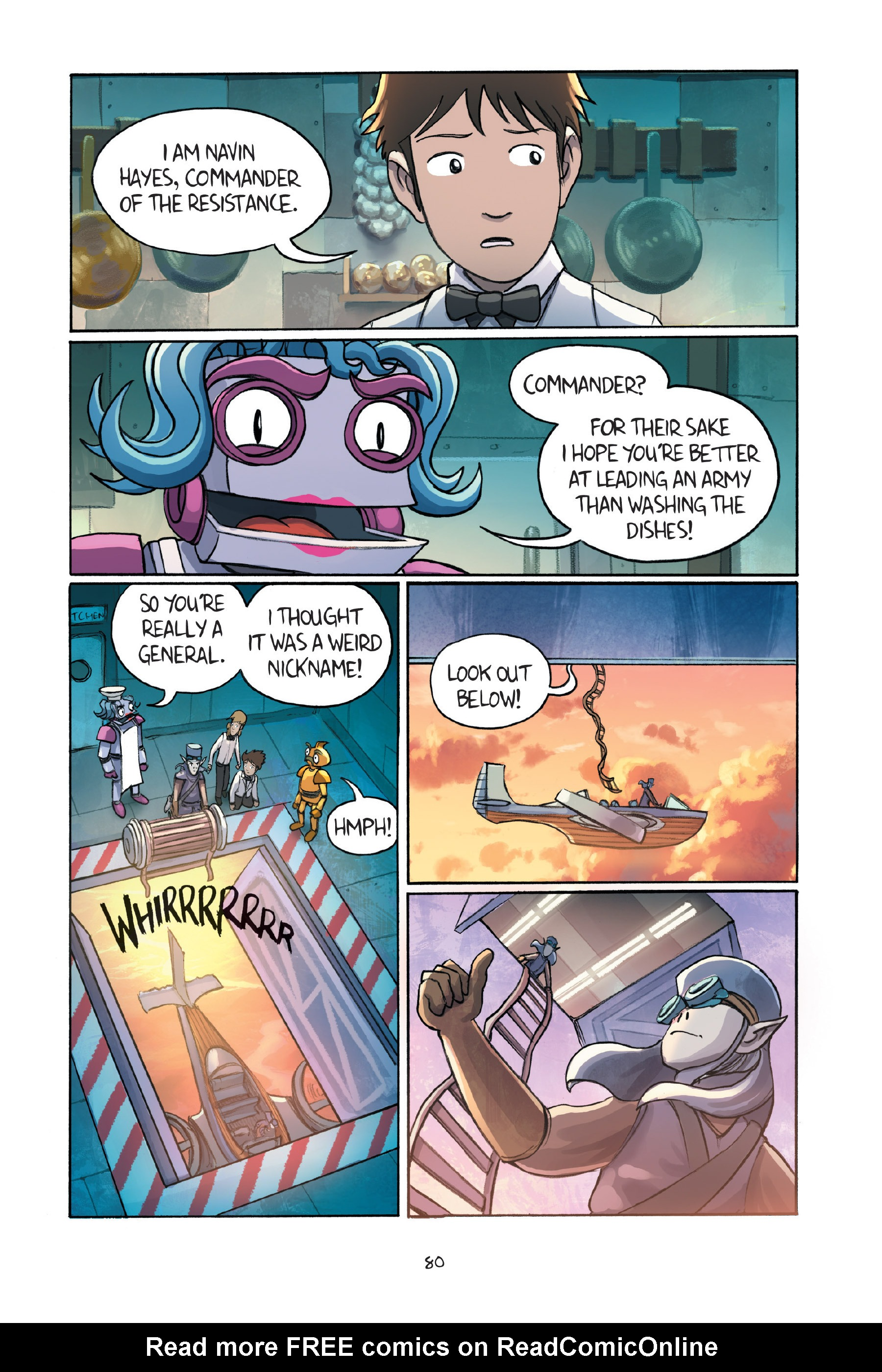 Read online Amulet comic -  Issue #7 - 81