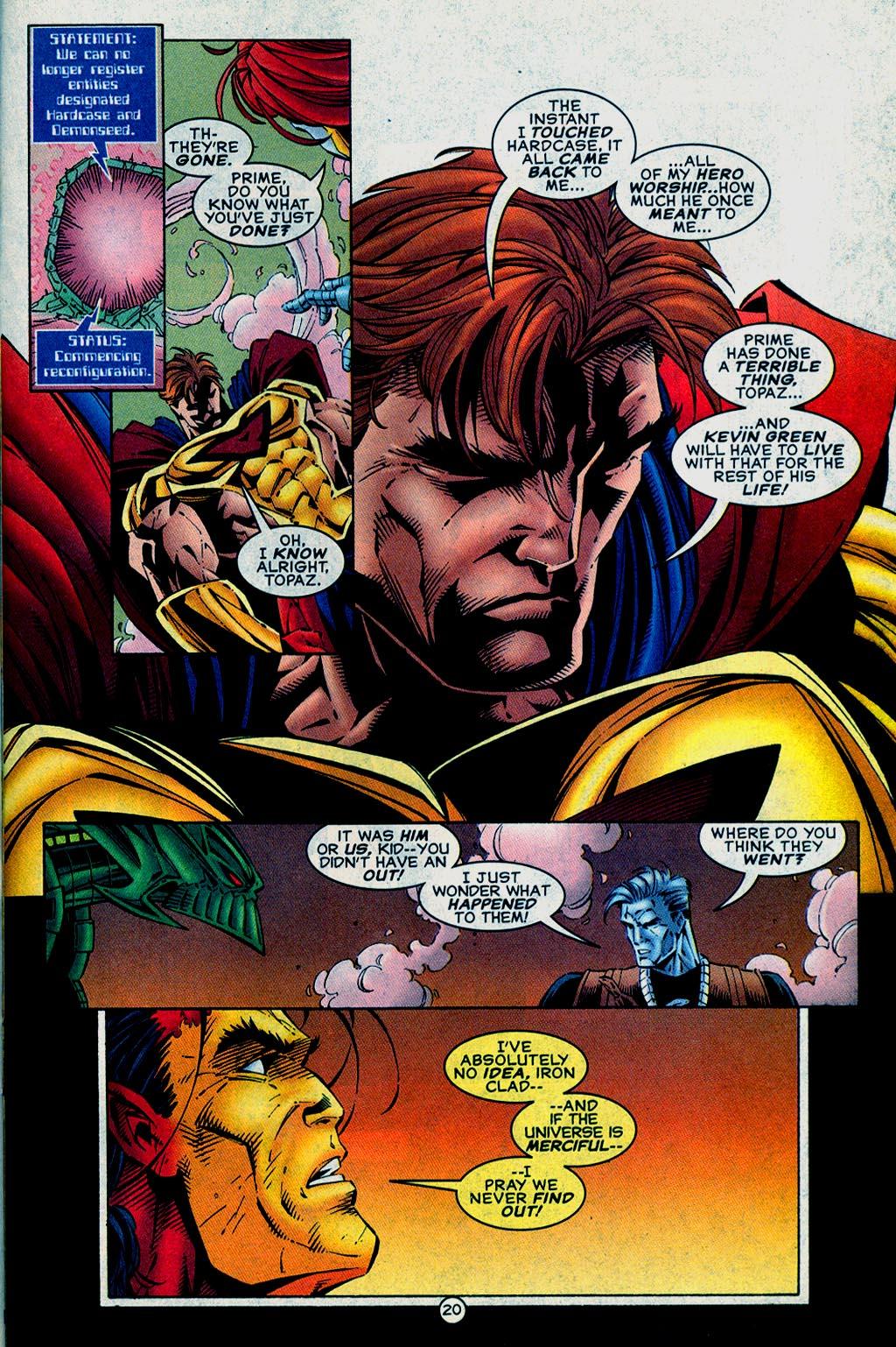 Read online UltraForce (1995) comic -  Issue #15 - 21