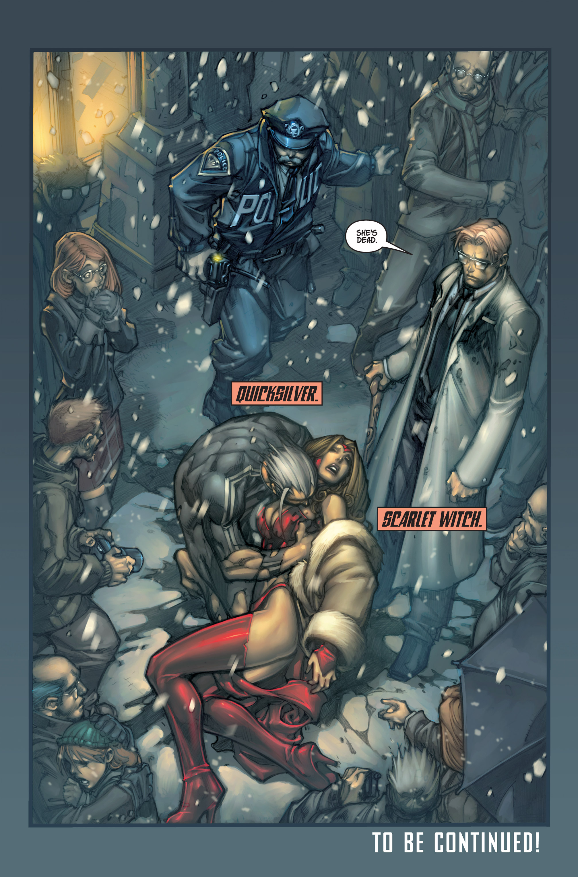 Read online Ultimates 3 comic -  Issue #1 - 22