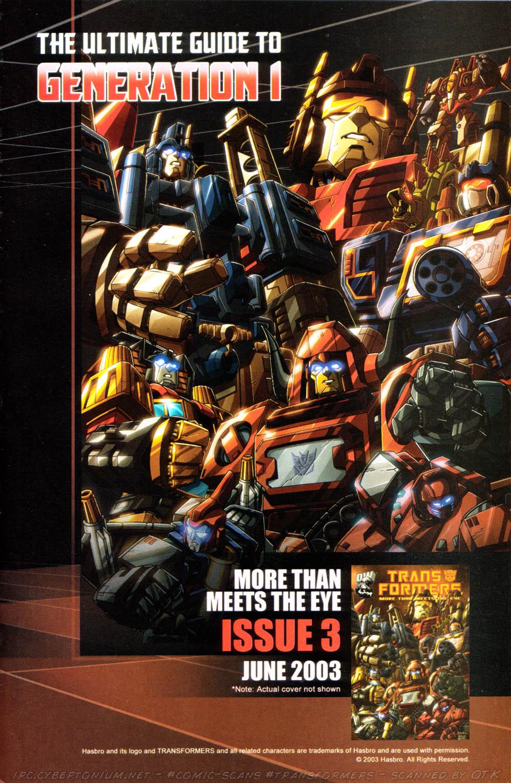 Read online Transformers Armada comic -  Issue #10 - 28