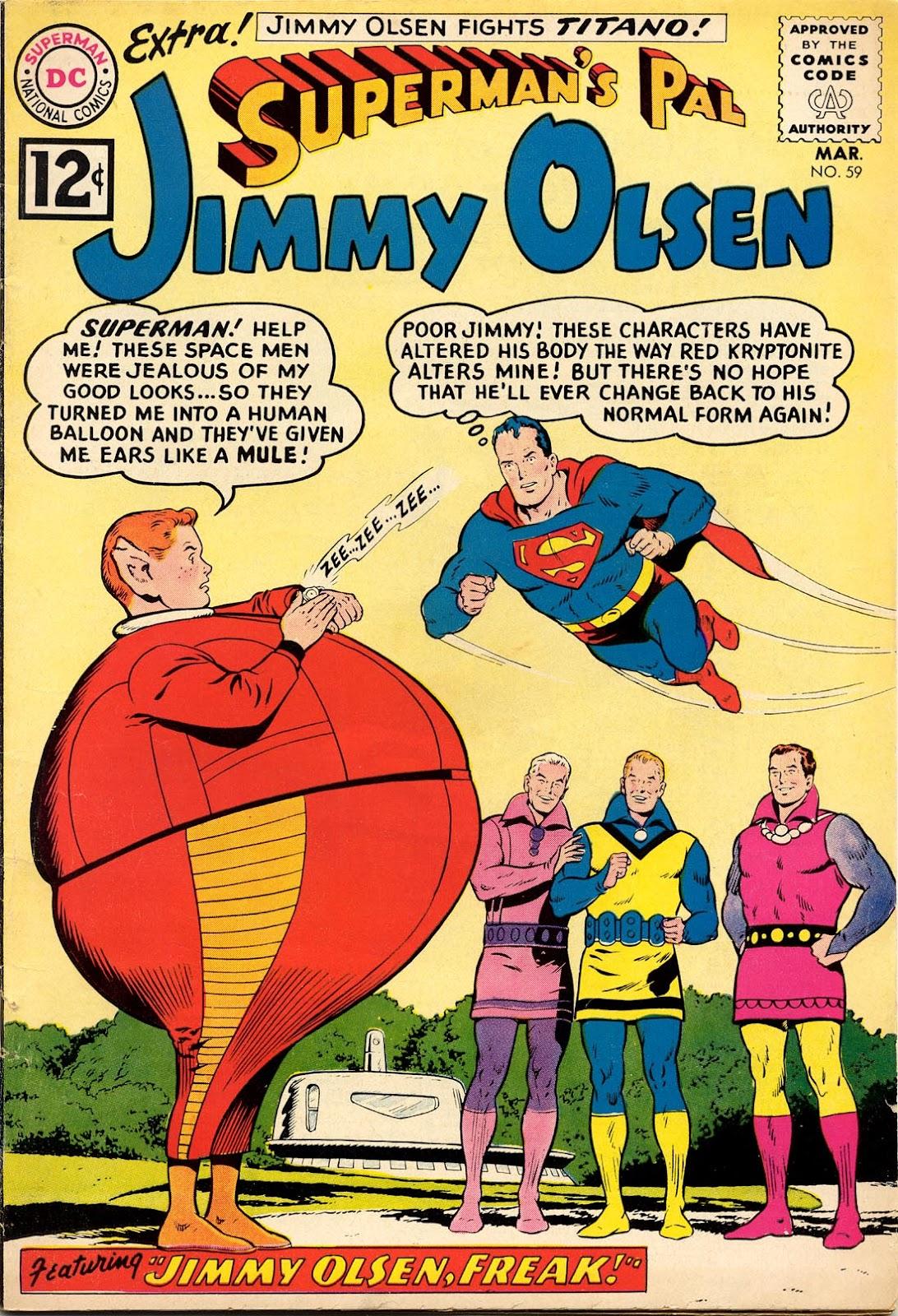 Supermans Pal Jimmy Olsen (1954) 59 Page 1