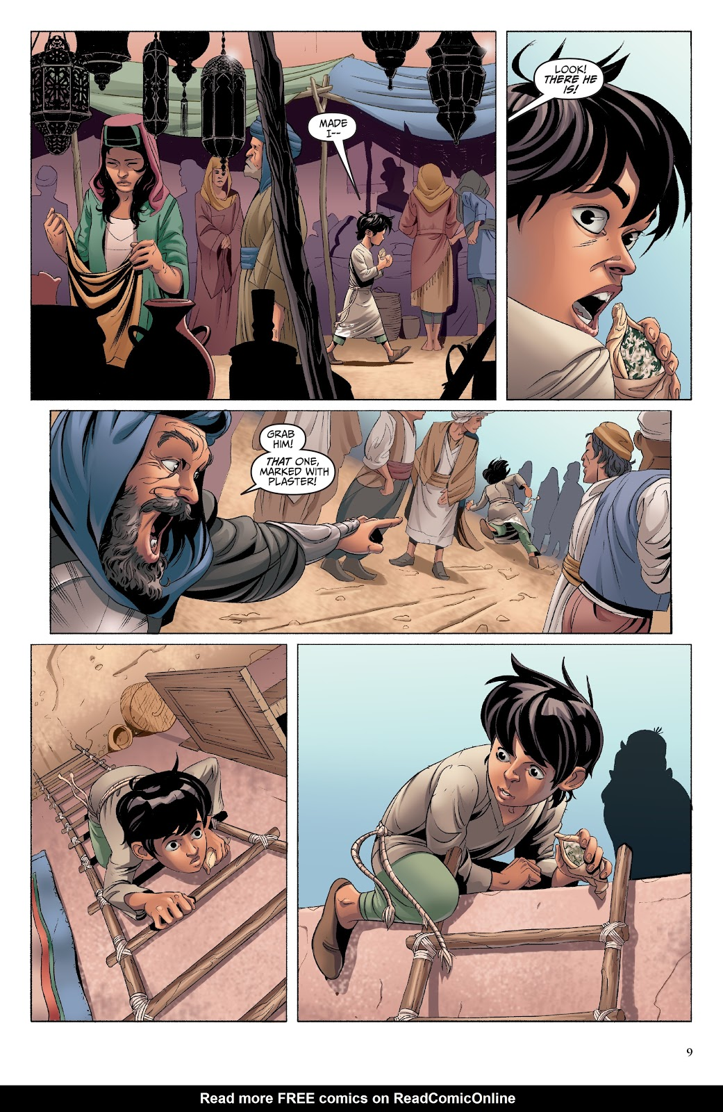 Read online Disney Aladdin: Four Tales of Agrabah comic -  Issue # TPB - 9