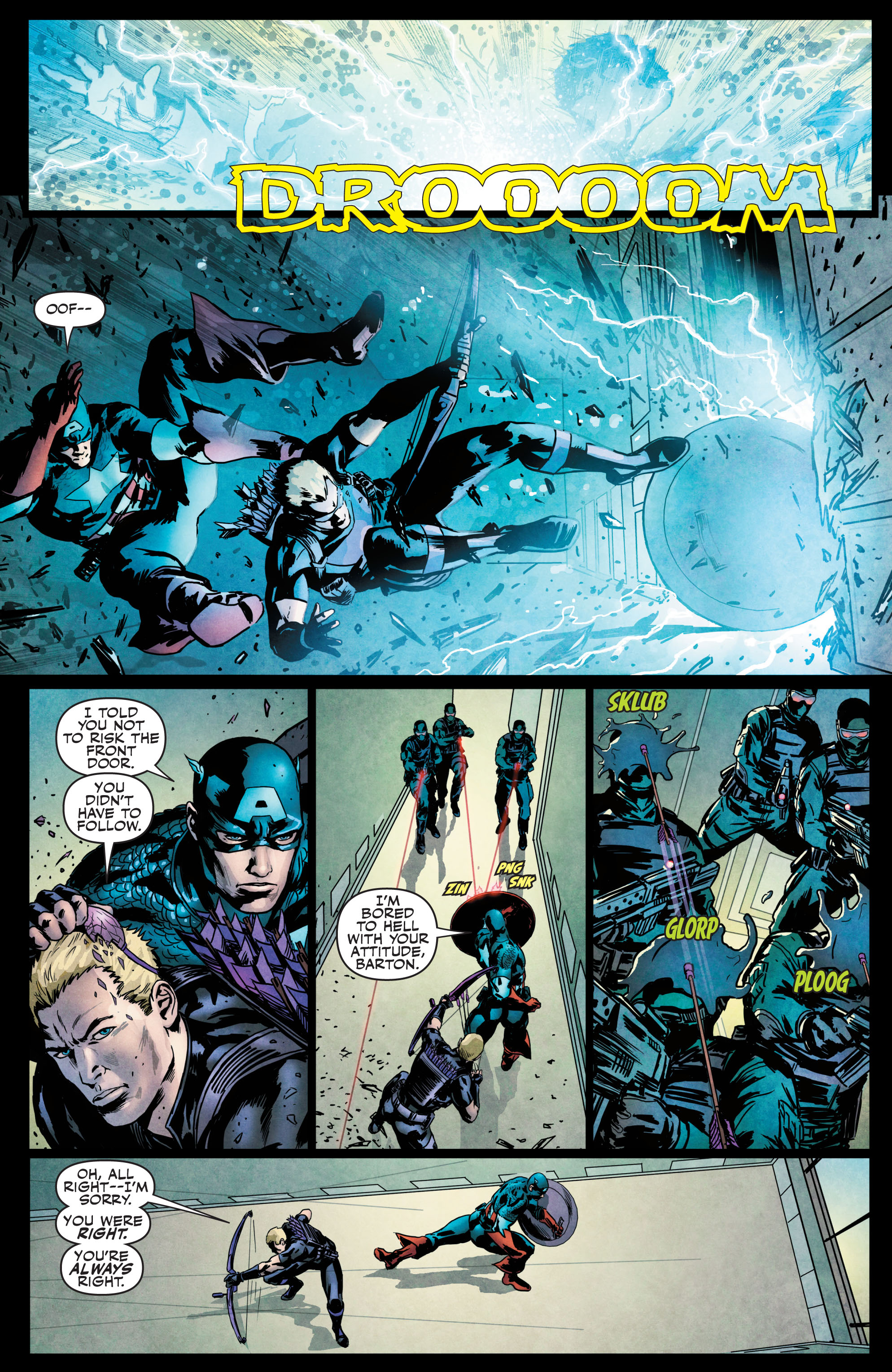Read online Secret Avengers (2010) comic -  Issue #21.1 - 9