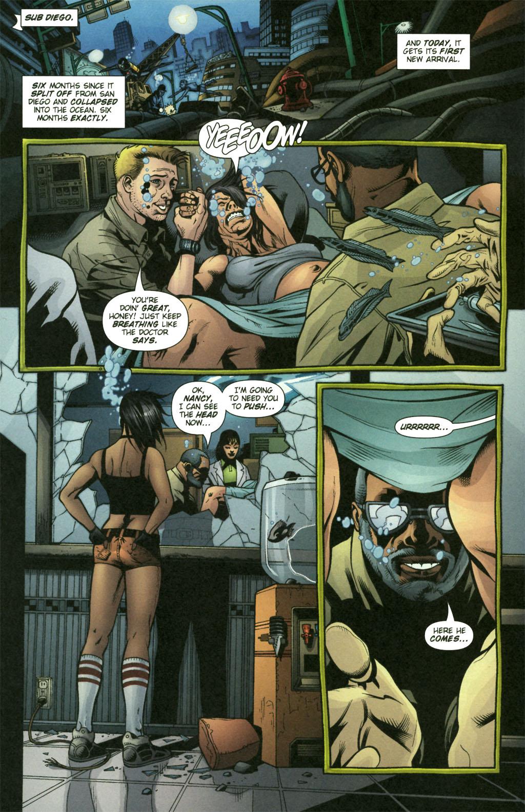 Read online Aquaman (2003) comic -  Issue #21 - 5