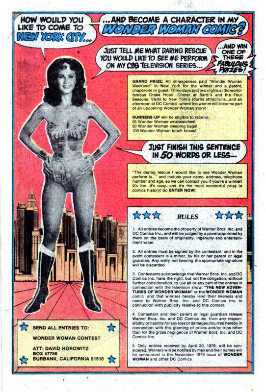 Read online Wonder Woman (1942) comic -  Issue #256 - 15
