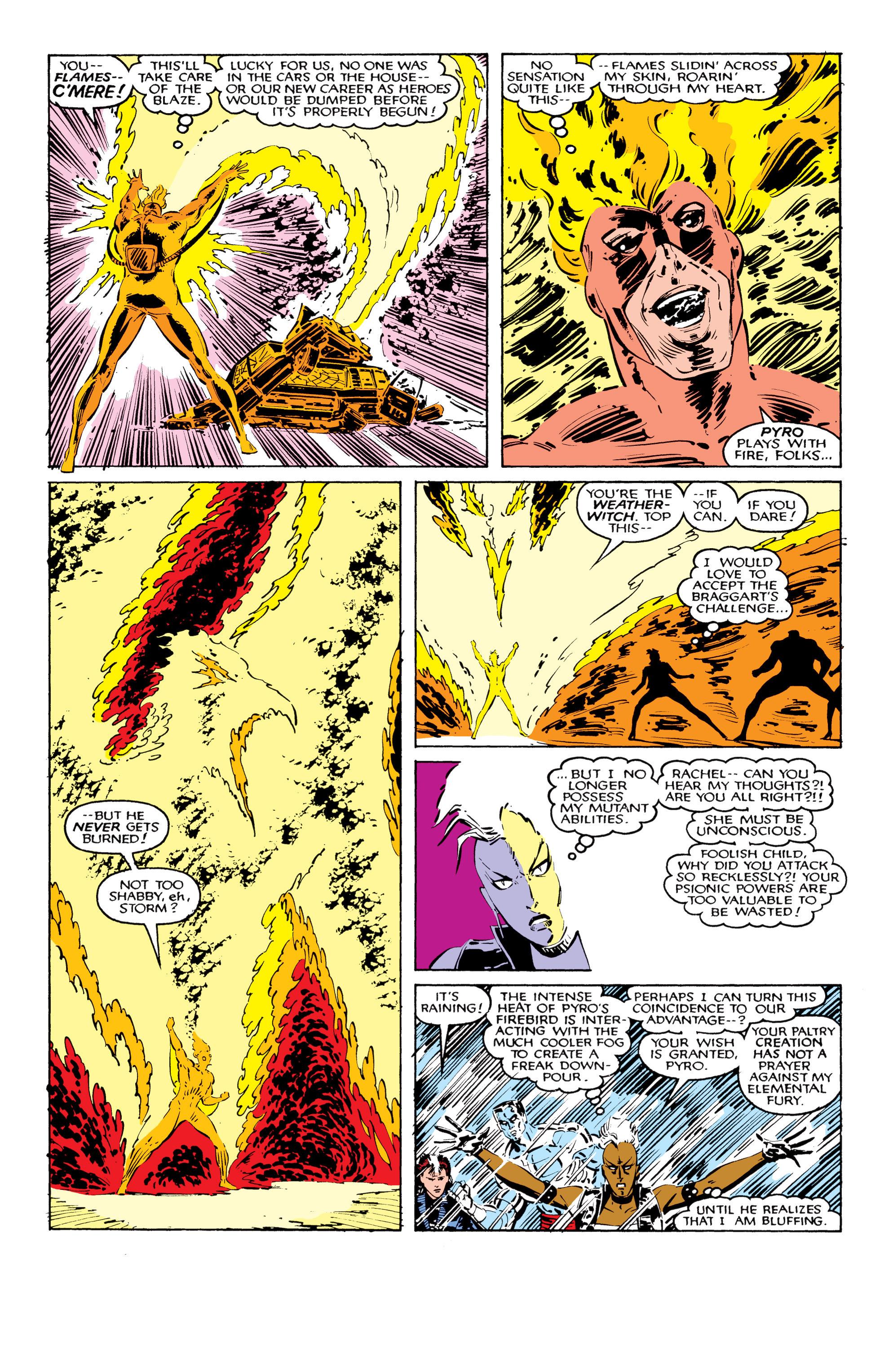 Read online Uncanny X-Men (1963) comic -  Issue #206 - 13
