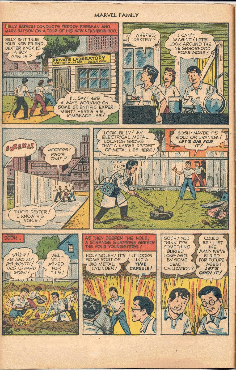 The Marvel Family issue 74 - Page 4