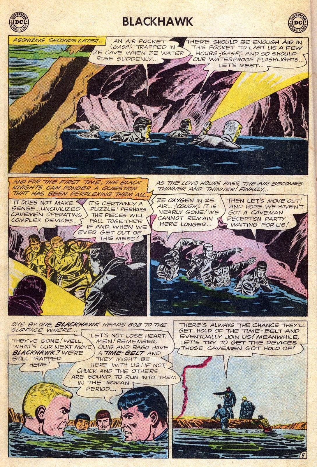 Blackhawk (1957) Issue #189 #82 - English 10