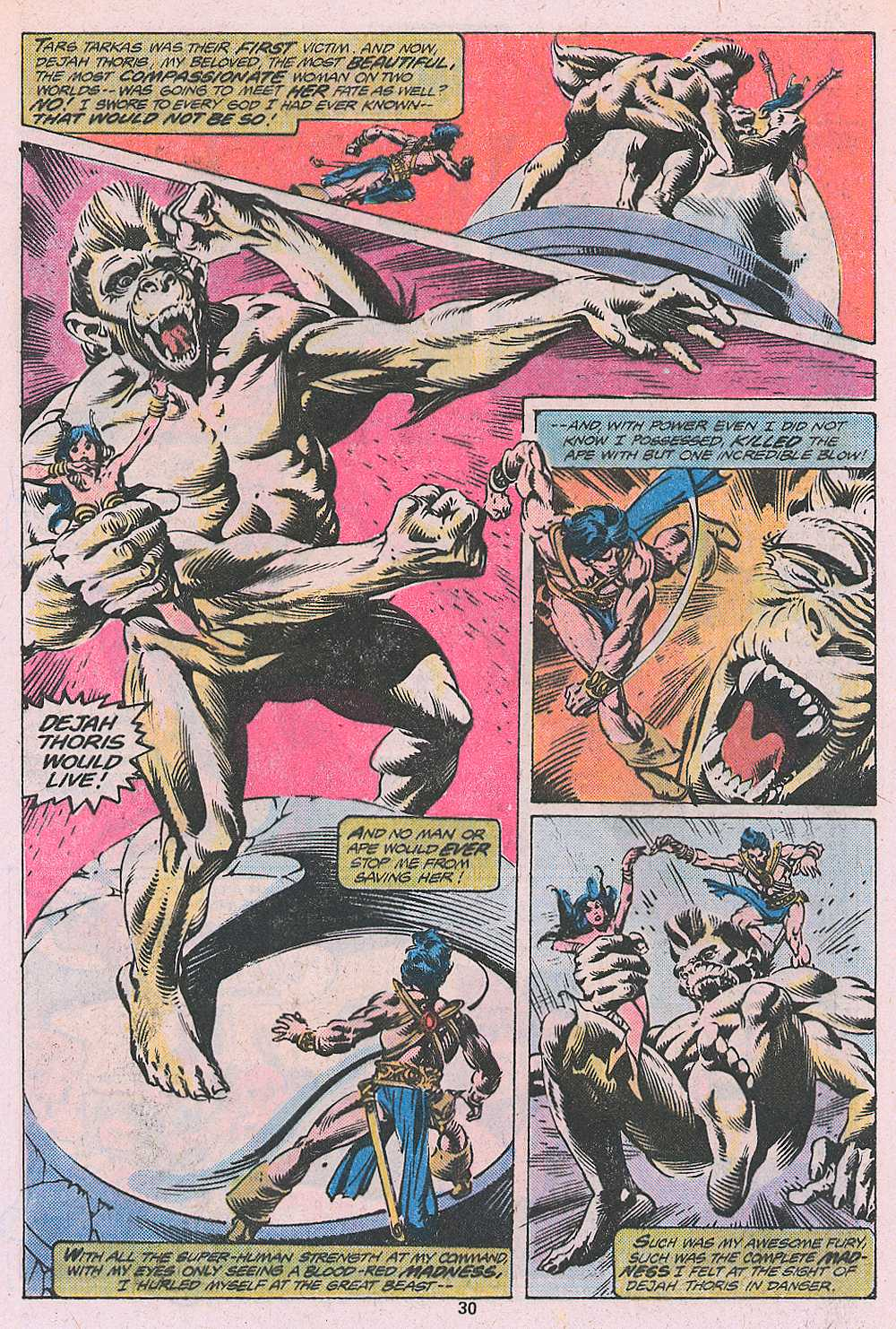 John Carter Warlord of Mars issue 2 - Page 32