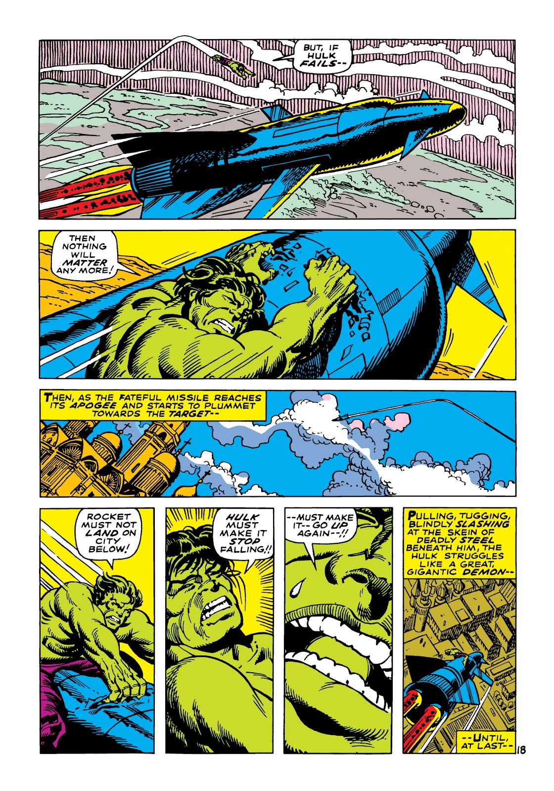 Read online Marvel Masterworks: The Incredible Hulk comic -  Issue # TPB 5 (Part 2) - 50