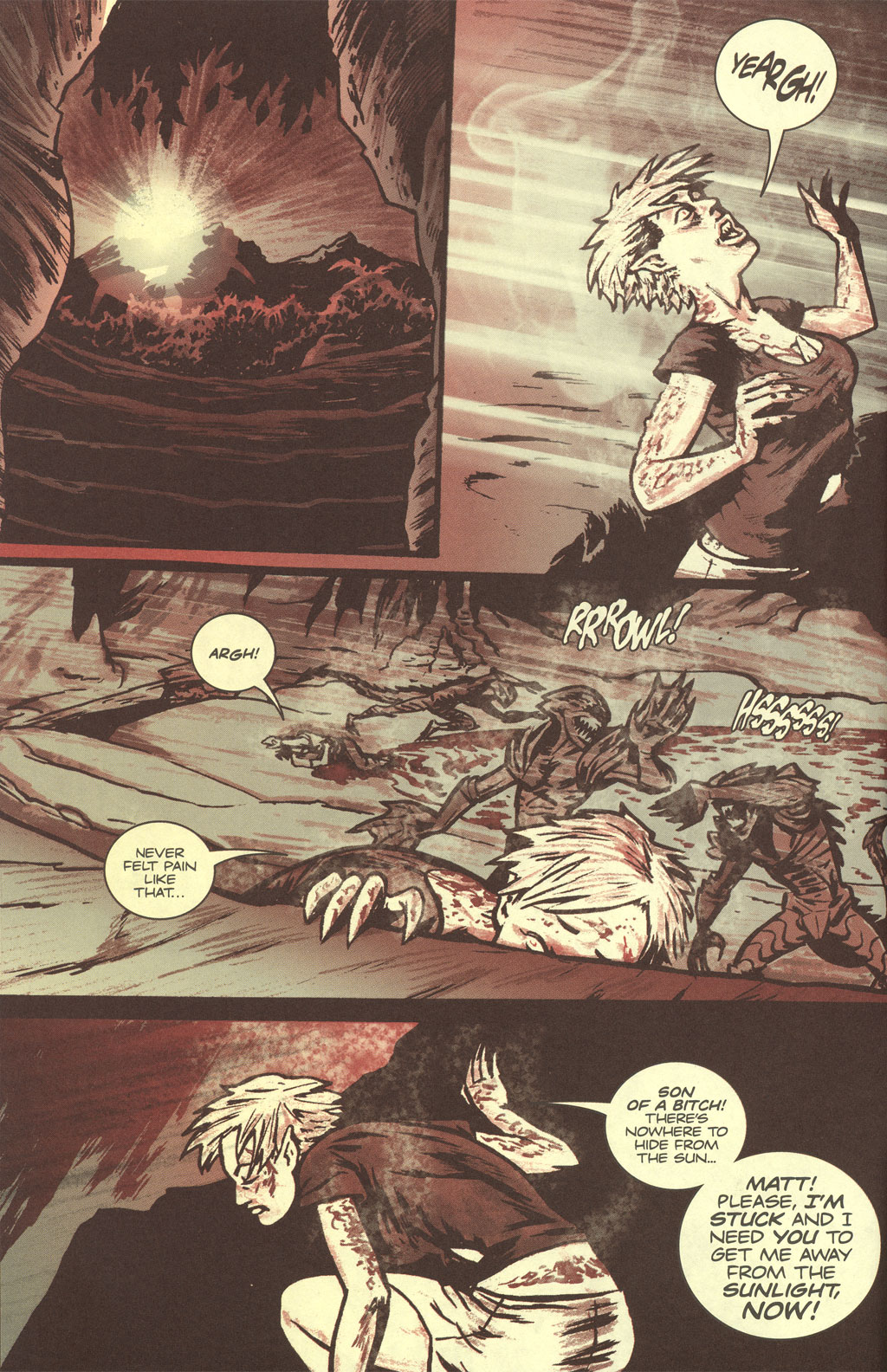 Read online Sea of Red comic -  Issue #4 - 6