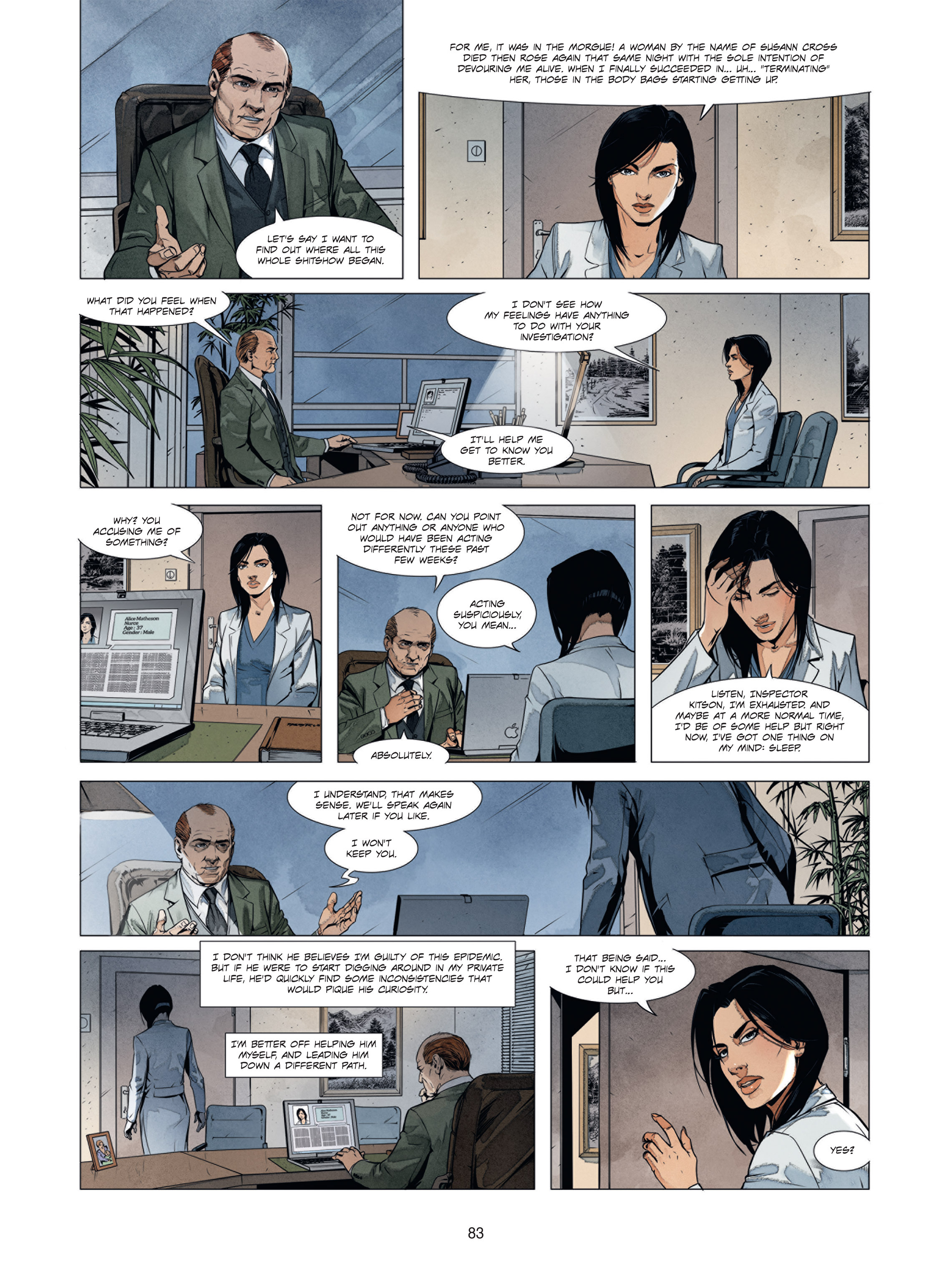 Read online Alice Matheson comic -  Issue #1 - 82