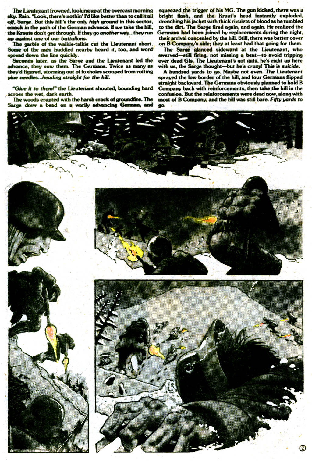 Read online Sgt. Rock comic -  Issue #334 - 31