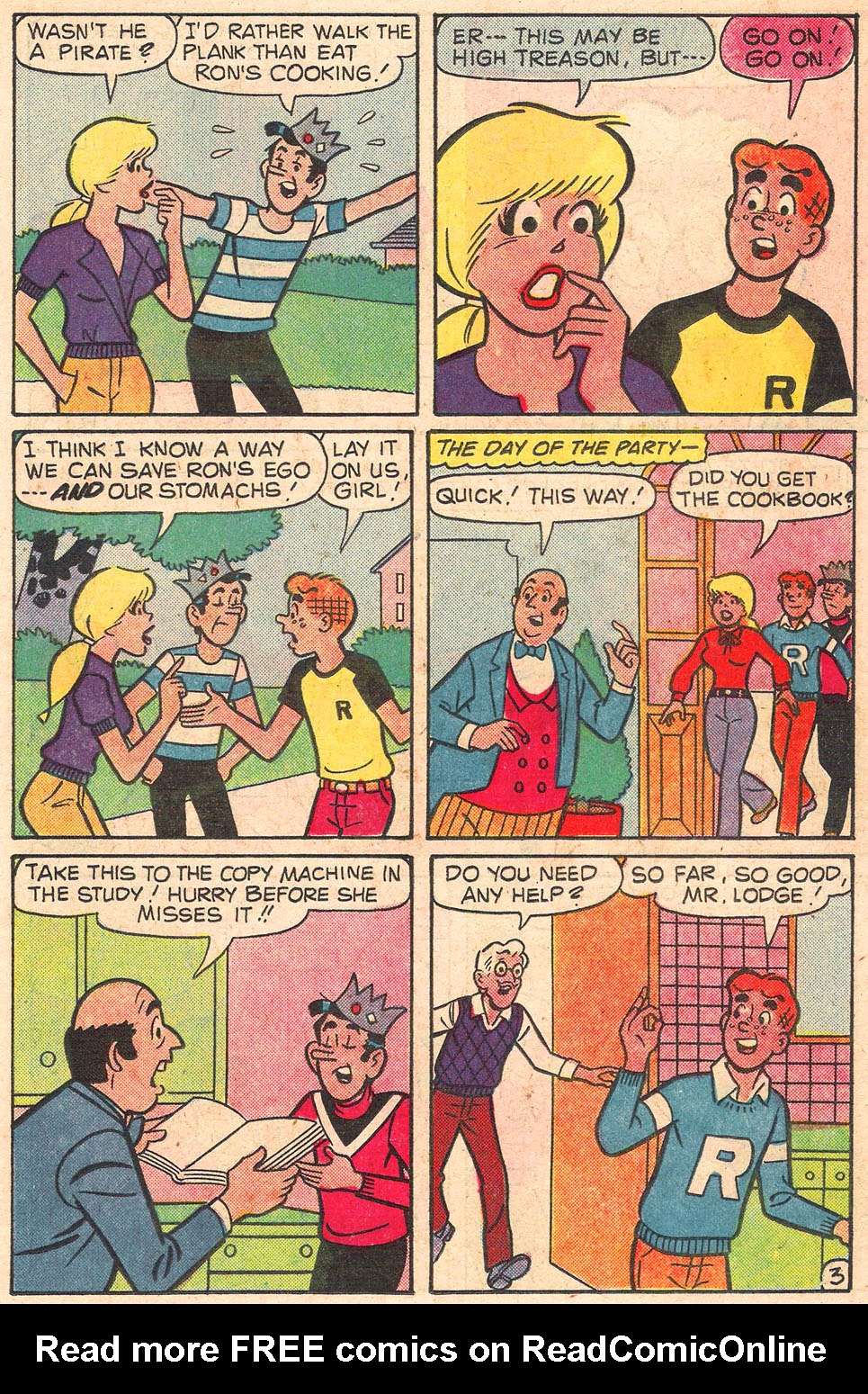 Read online Archie's Girls Betty and Veronica comic -  Issue #301 - 15