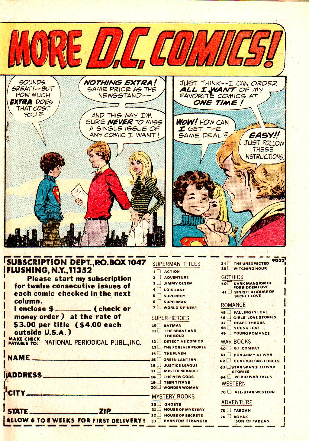 Read online All-Star Western (1970) comic -  Issue #10 - 27