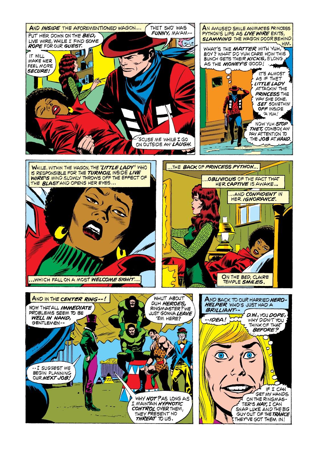 Read online Marvel Masterworks: Luke Cage, Power Man comic -  Issue # TPB 2 (Part 2) - 68