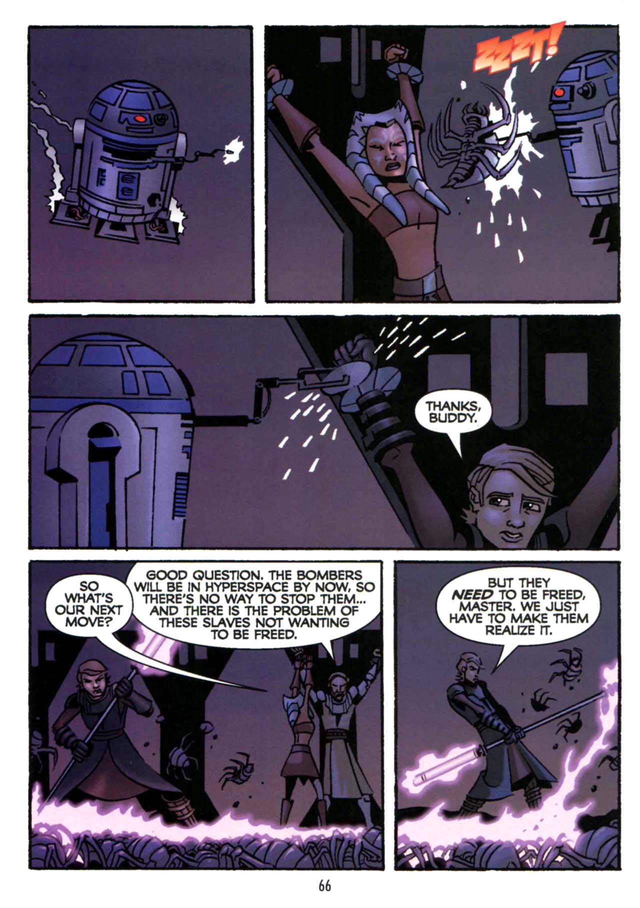 Read online Star Wars: The Clone Wars - Shipyards of Doom comic -  Issue # Full - 64