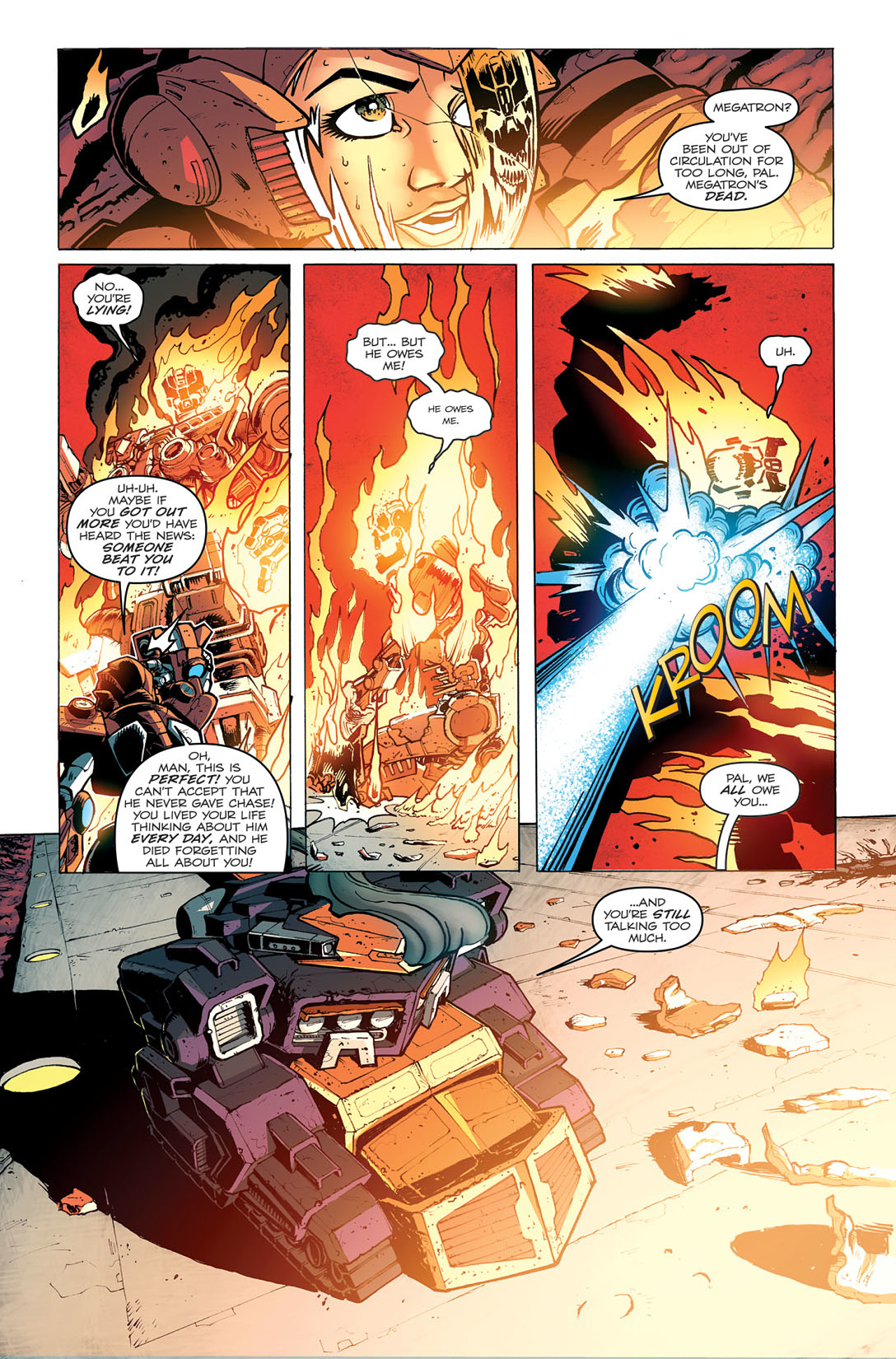 Read online Transformers: Last Stand of The Wreckers comic -  Issue #5 - 20