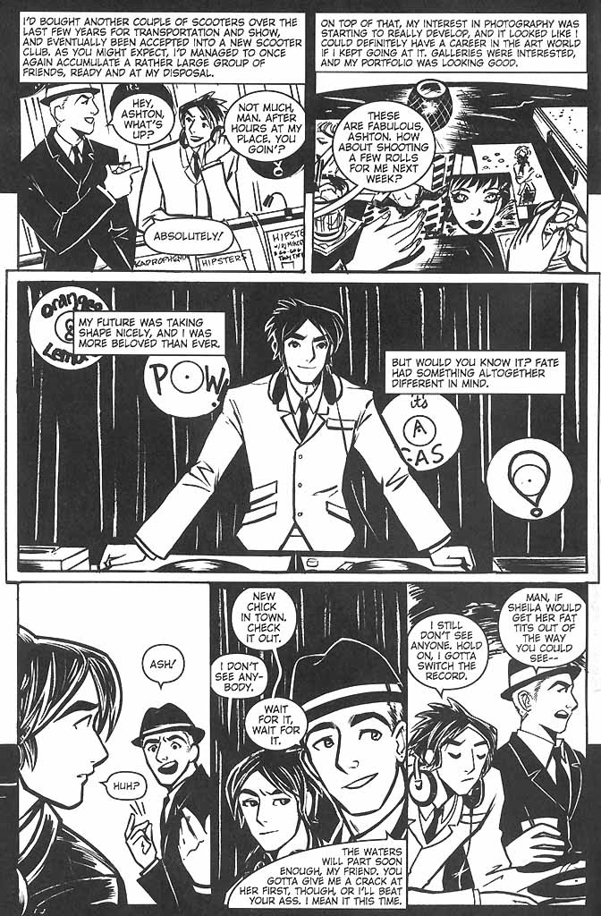 Read online Scooter Girl comic -  Issue #2 - 4