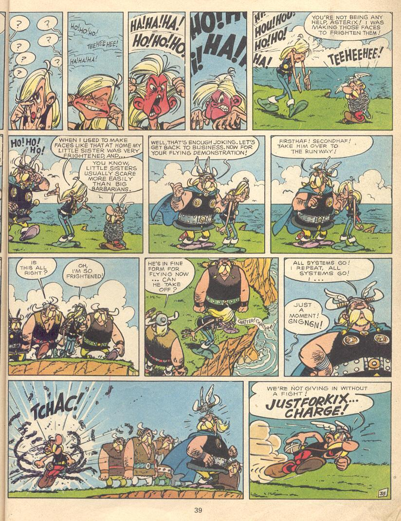 Read online Asterix comic -  Issue #9 - 36