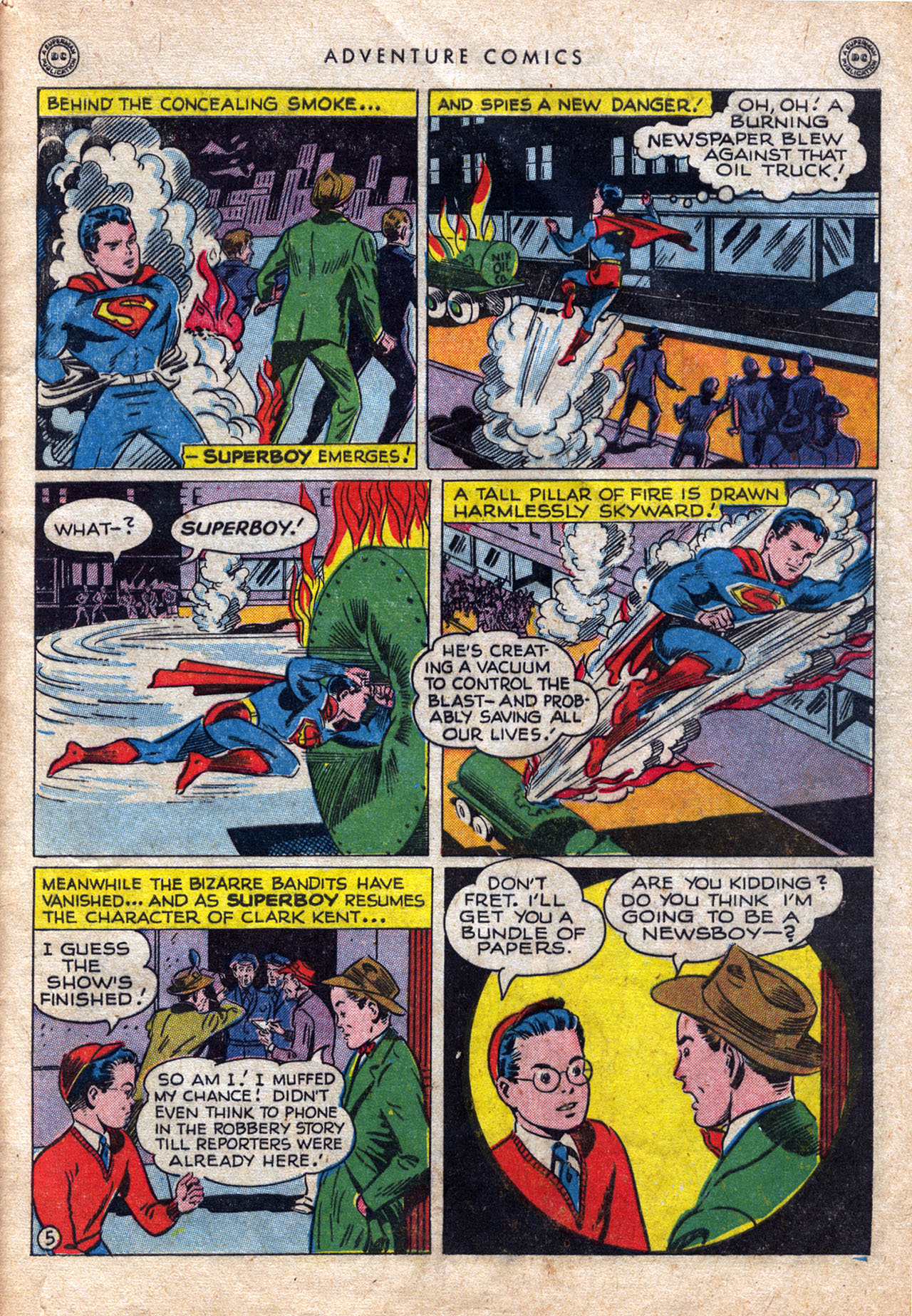Read online Adventure Comics (1938) comic -  Issue #120 - 7
