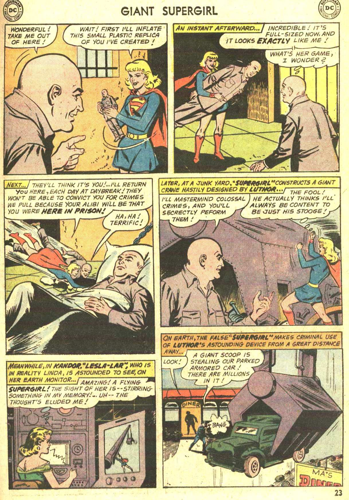 Read online Action Comics (1938) comic -  Issue #360 - 23