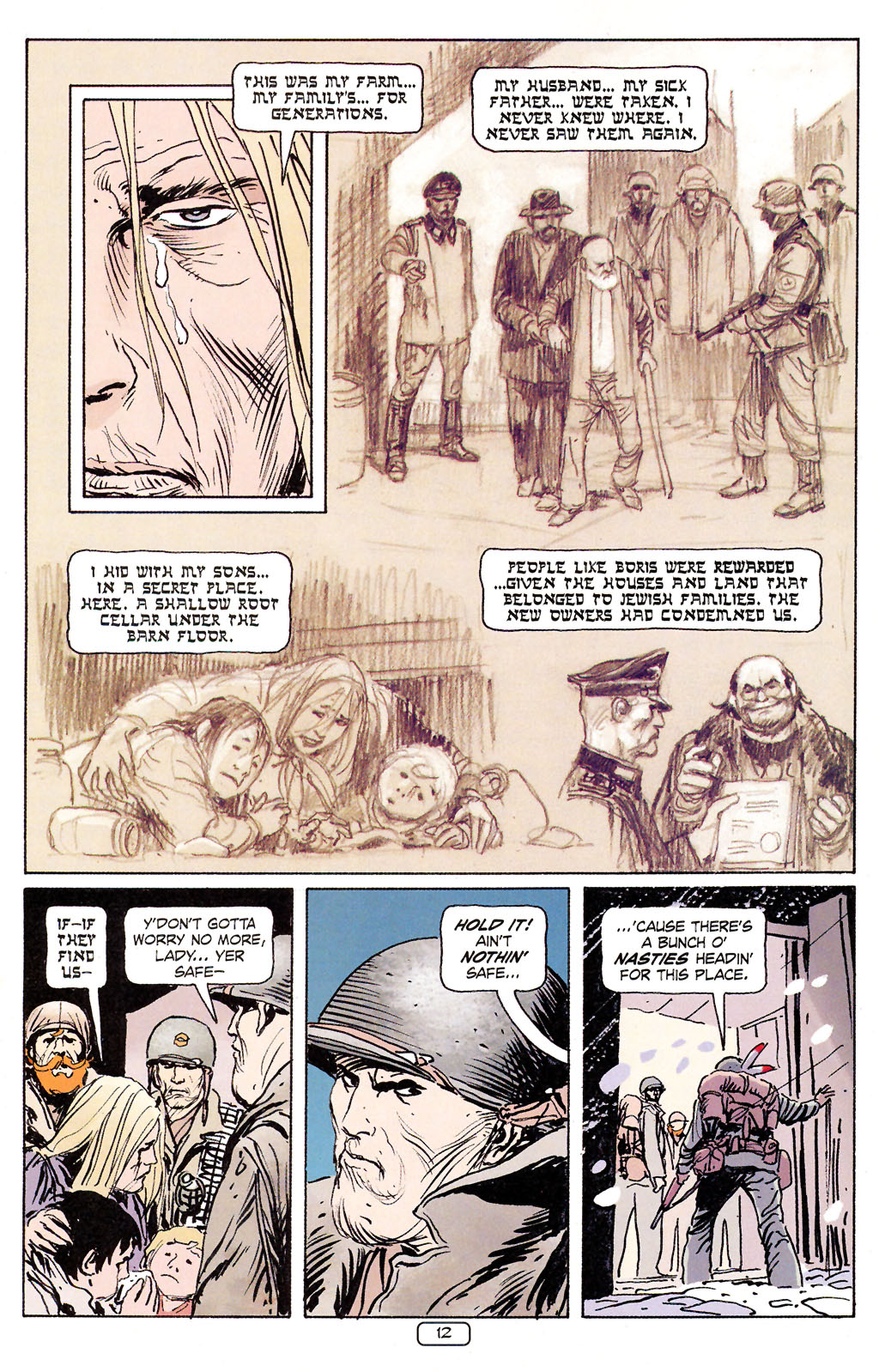 Read online Sgt. Rock: The Prophecy comic -  Issue #5 - 12